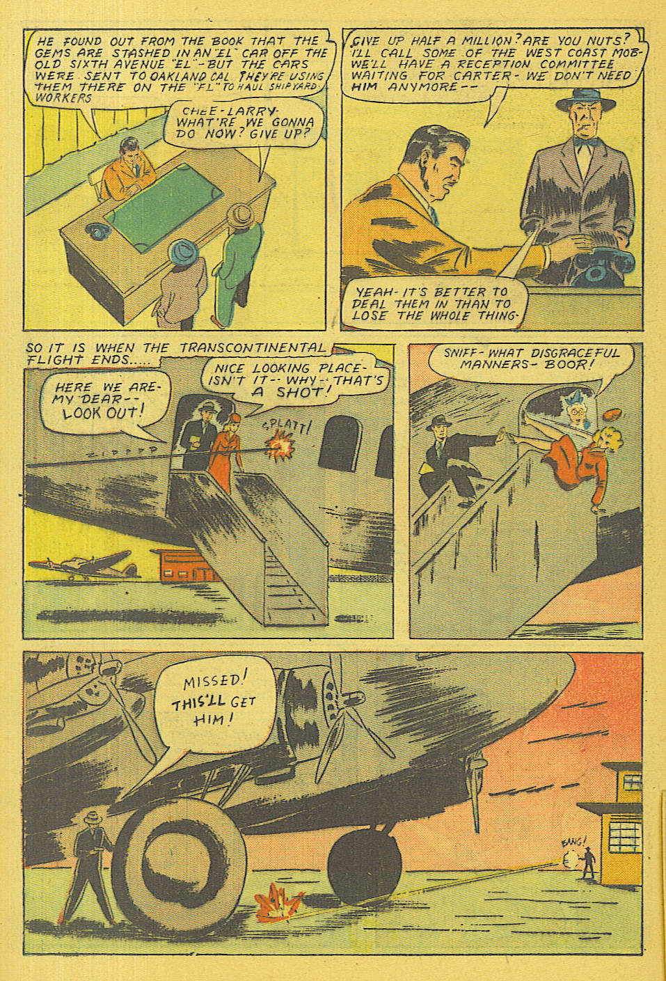 Read online Shadow Comics comic -  Issue #71 - 21