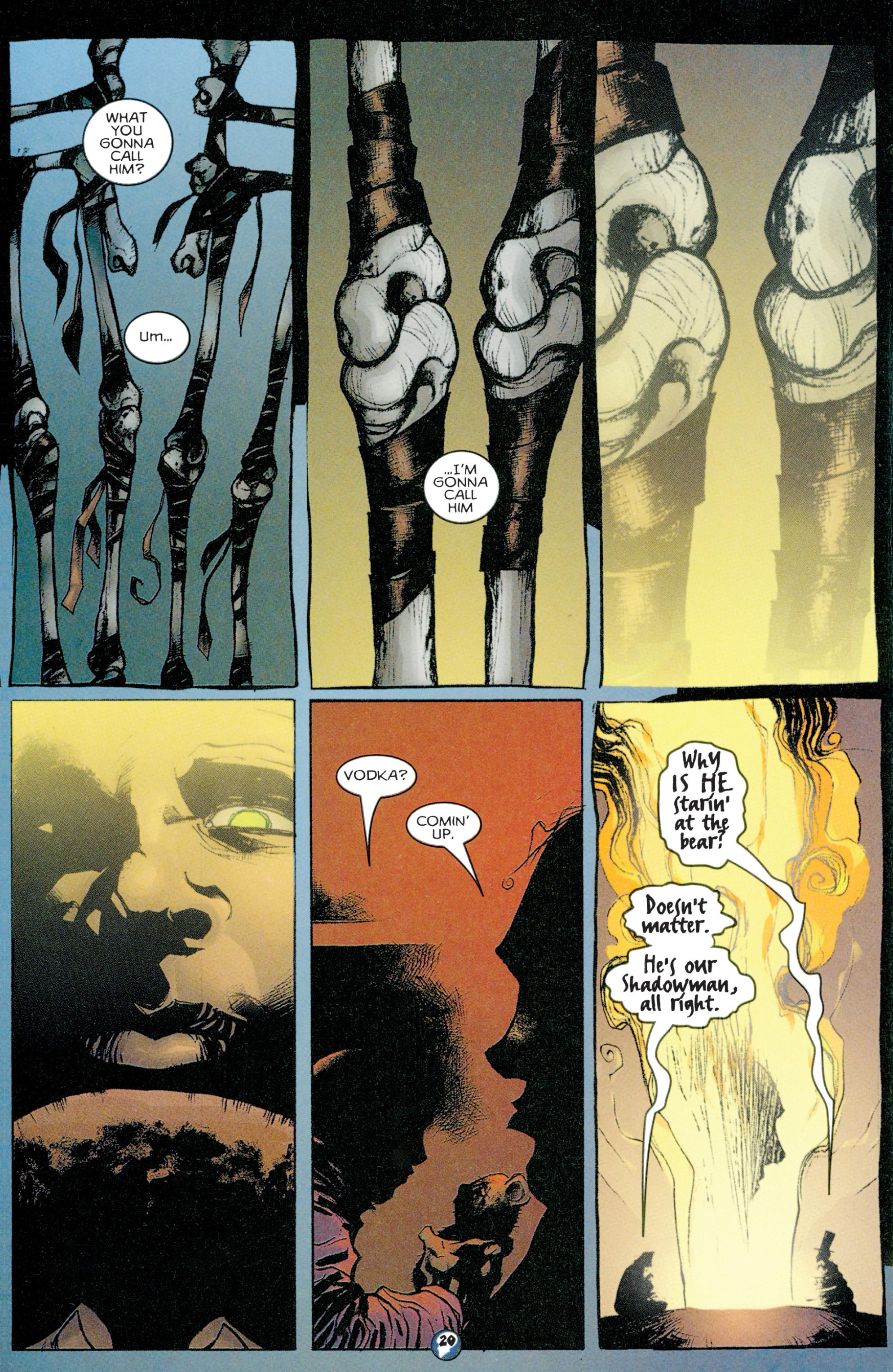 Read online Shadowman (1997) comic -  Issue #1 - 17