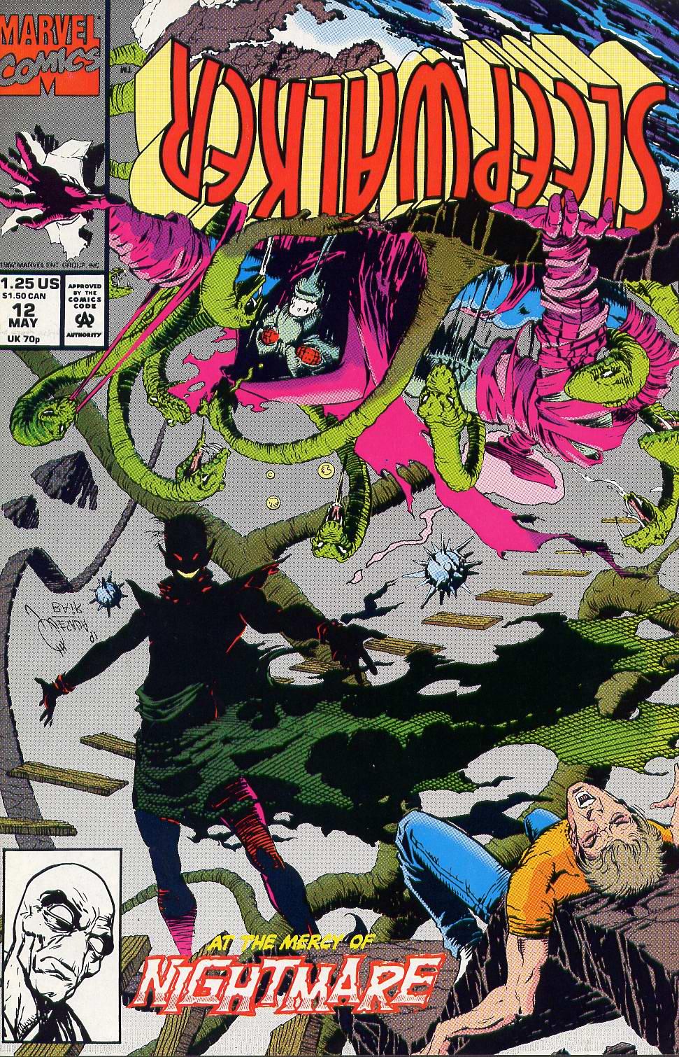 Read online Sleepwalker comic -  Issue #12 - 1