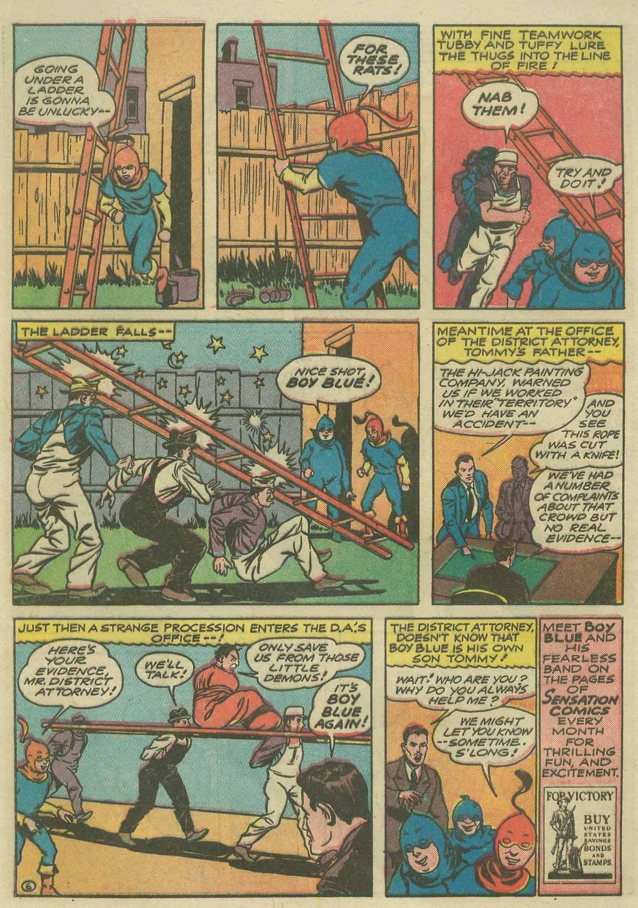 Read online Sensation (Mystery) Comics comic -  Issue #9 - 54