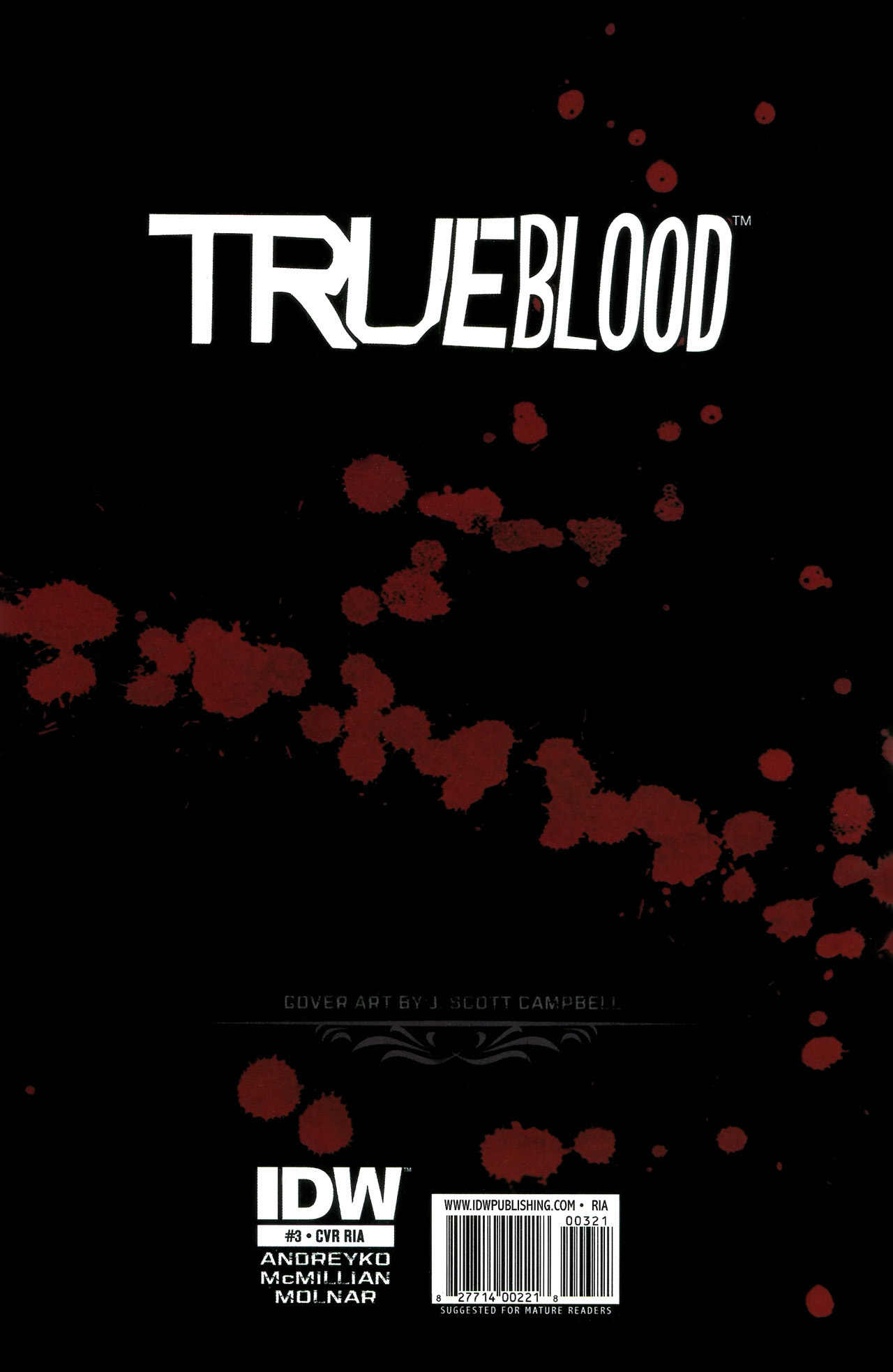 Read online True Blood: Tainted Love comic -  Issue #3 - 33