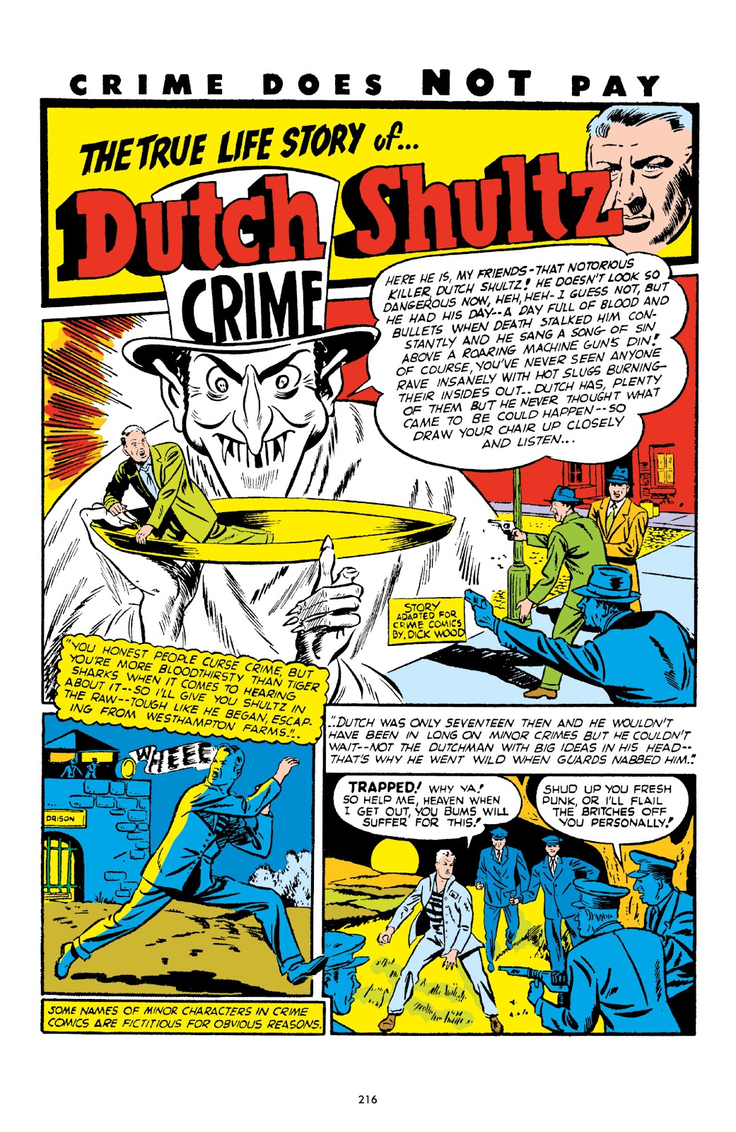 Read online Crime Does Not Pay Archives comic -  Issue # TPB 1 (Part 3) - 19