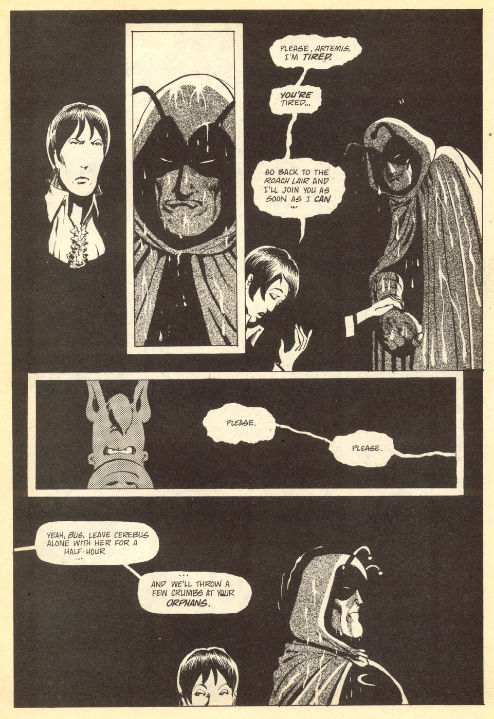 Cerebus Issue #33 #33 - English 6