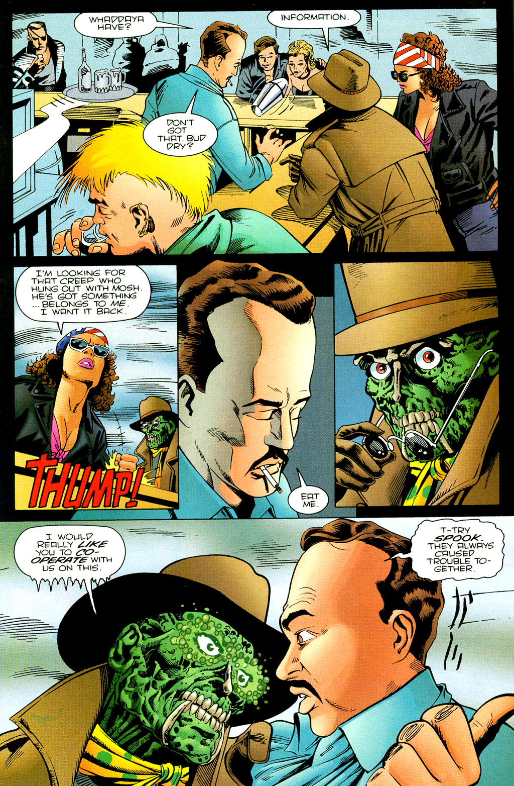 Read online UltraForce (1994) comic -  Issue #7 - 17