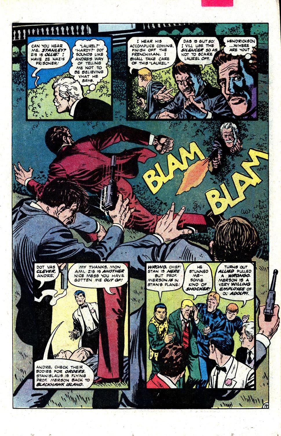 Read online Blackhawk (1957) comic -  Issue #252 - 18