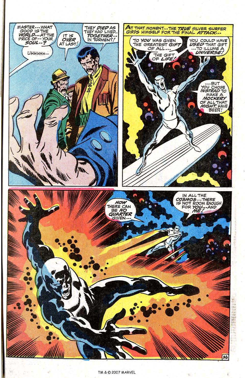Read online Silver Surfer (1968) comic -  Issue #7 - 43