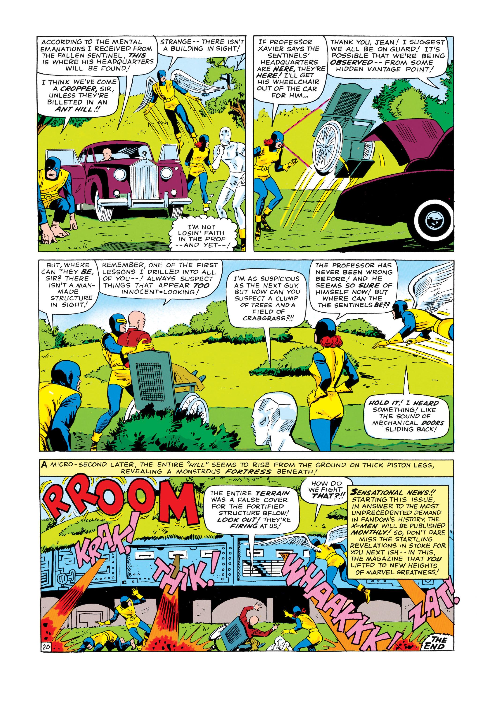 Read online Uncanny X-Men (1963) comic -  Issue #14 - 21