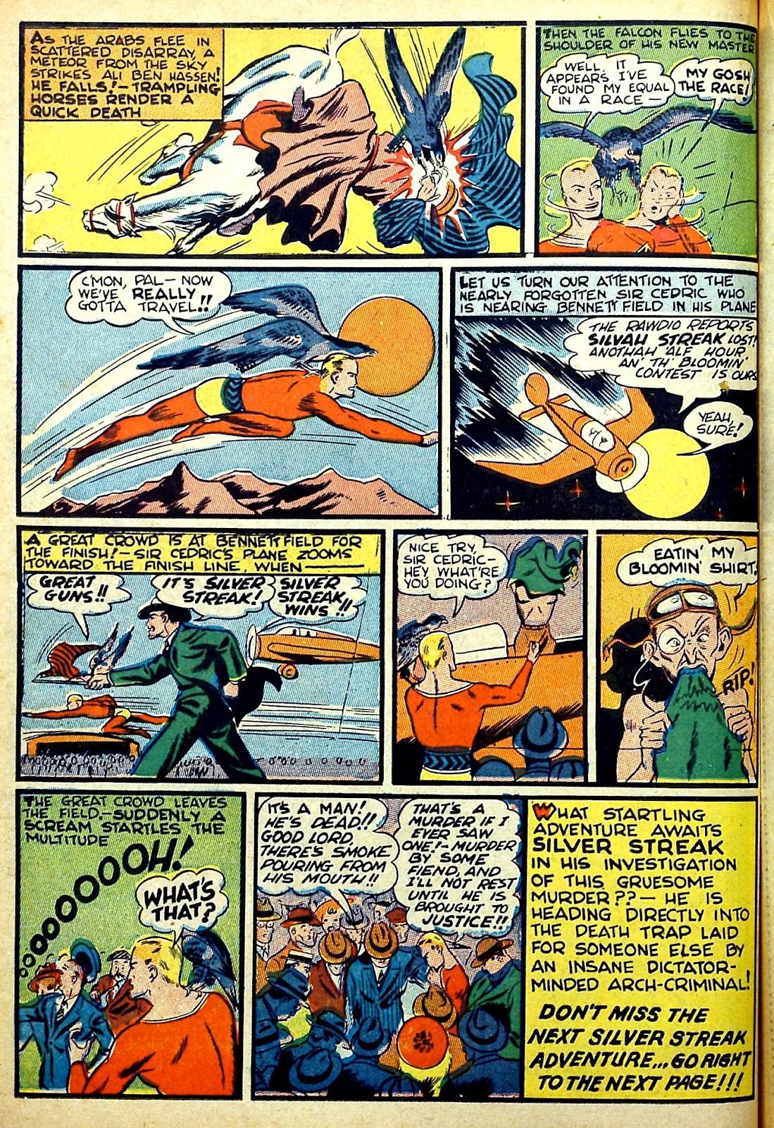 Read online Silver Streak Comics comic -  Issue #22 - 32