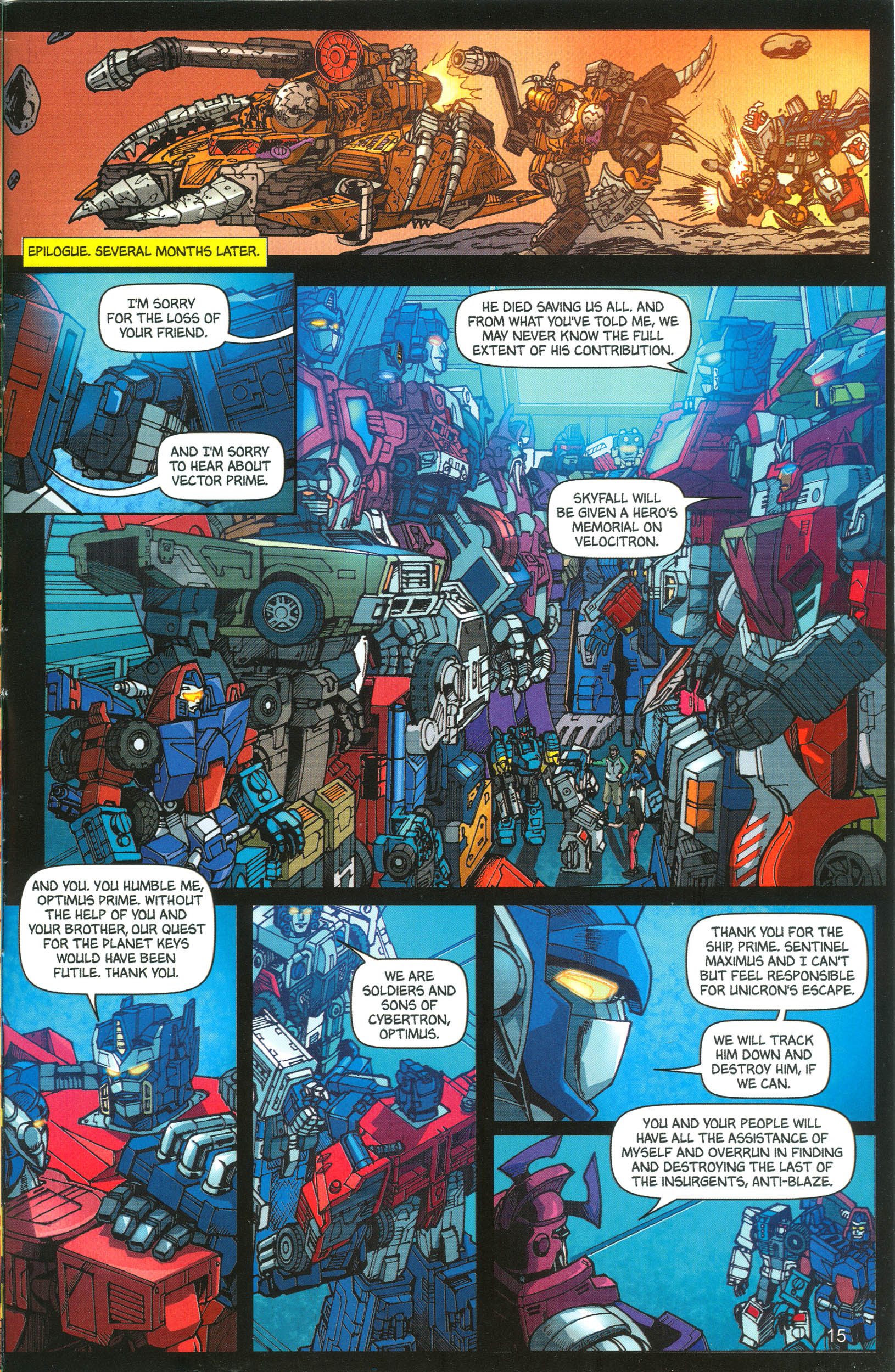 Read online Transformers: Collectors' Club comic -  Issue #12 - 15