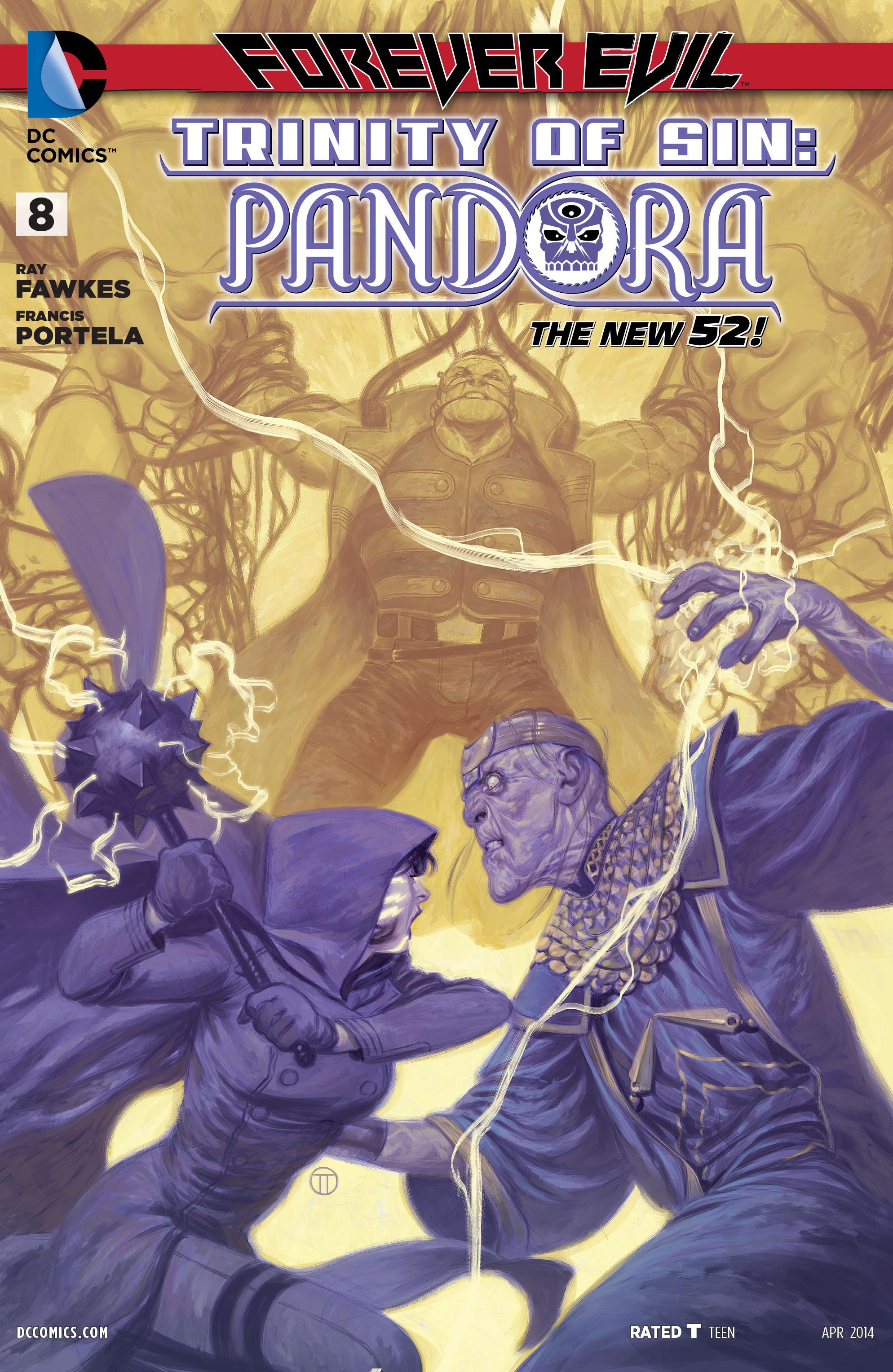 Read online Trinity of Sin: Pandora comic -  Issue #8 - 1