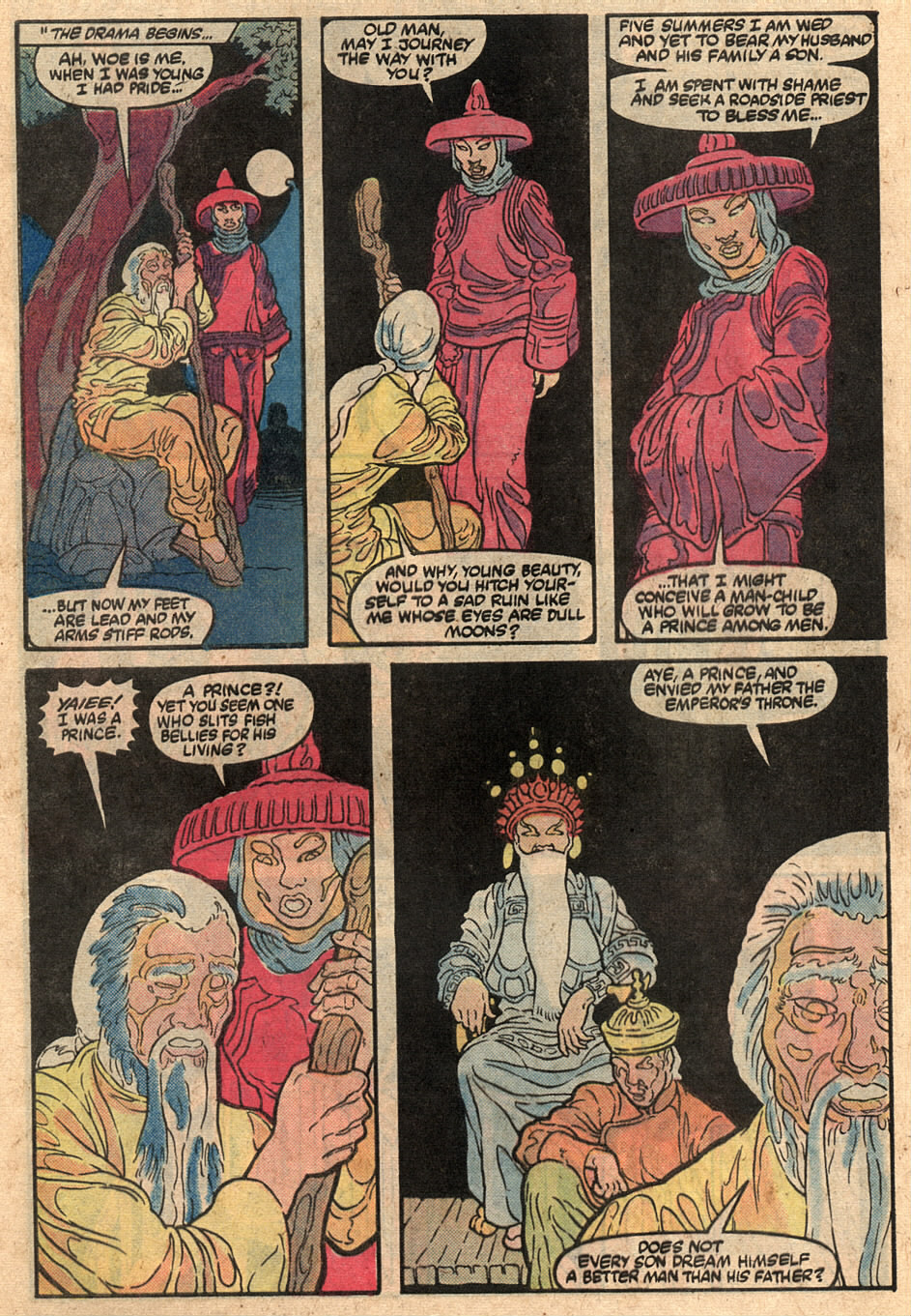 Read online Master of Kung Fu (1974) comic -  Issue #125 - 16
