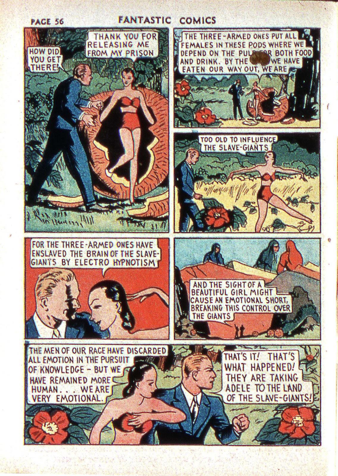 Read online Fantastic Comics comic -  Issue #2 - 57