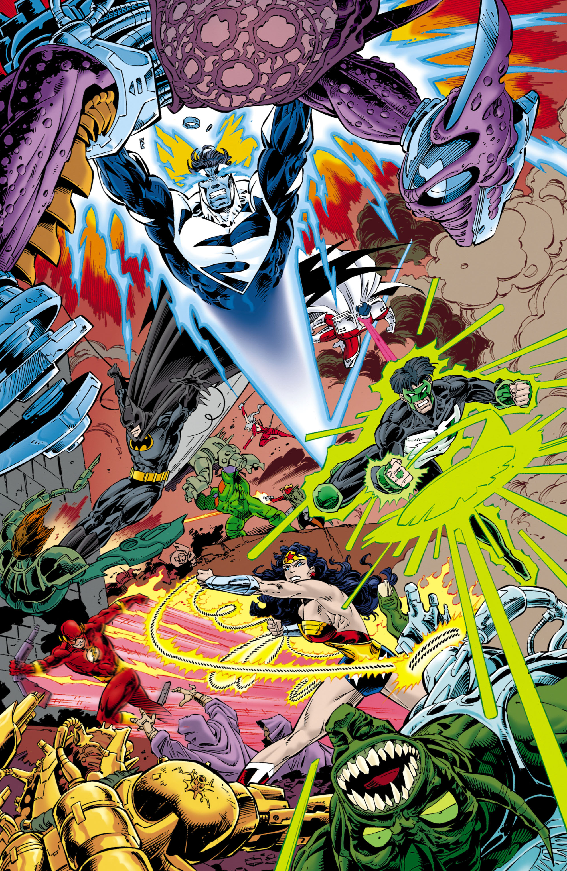Read online JLA/WildC.A.T.s comic -  Issue # Full - 33