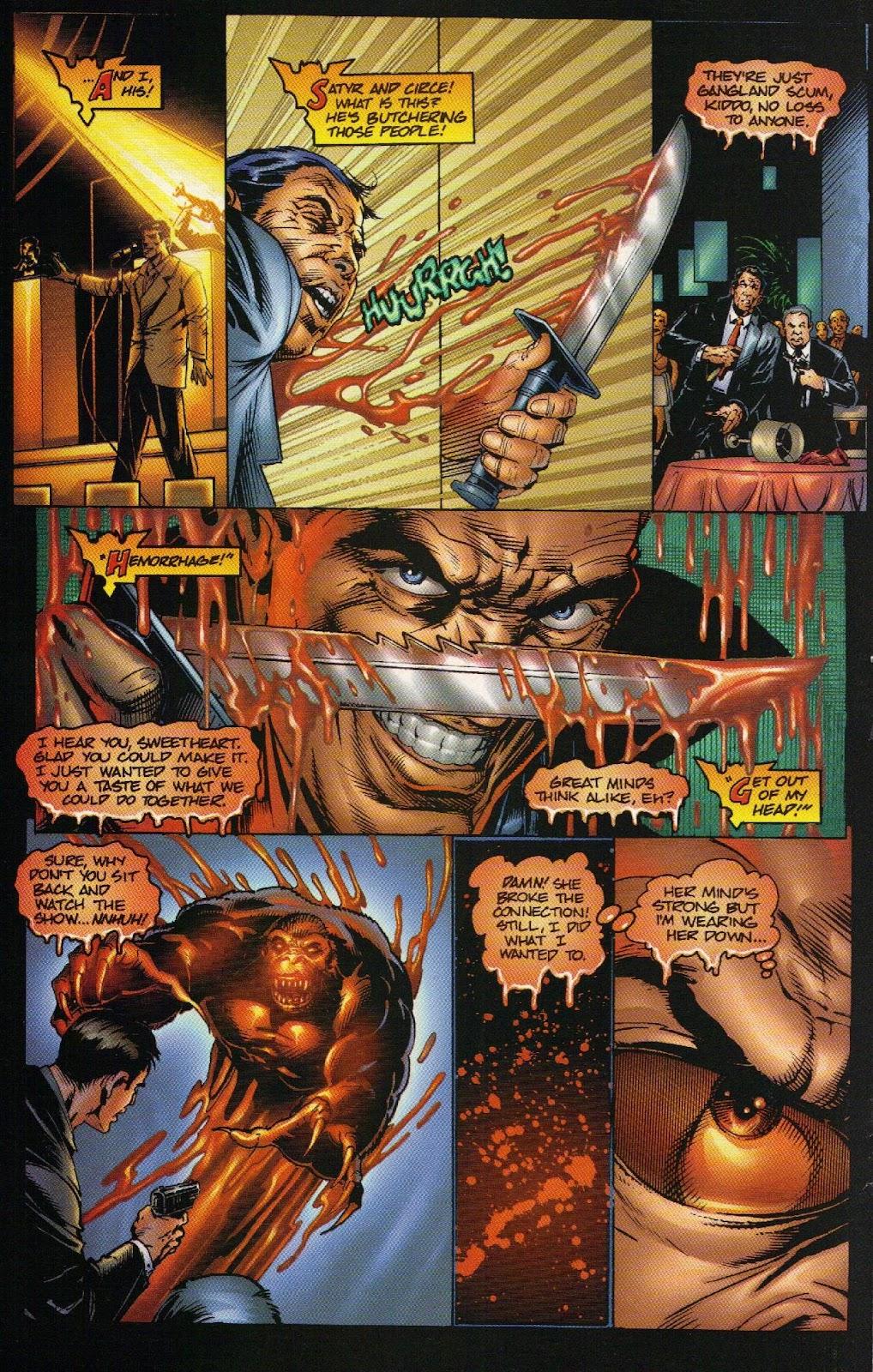 Vampirella vs Hemorrhage issue 1 - Page 17
