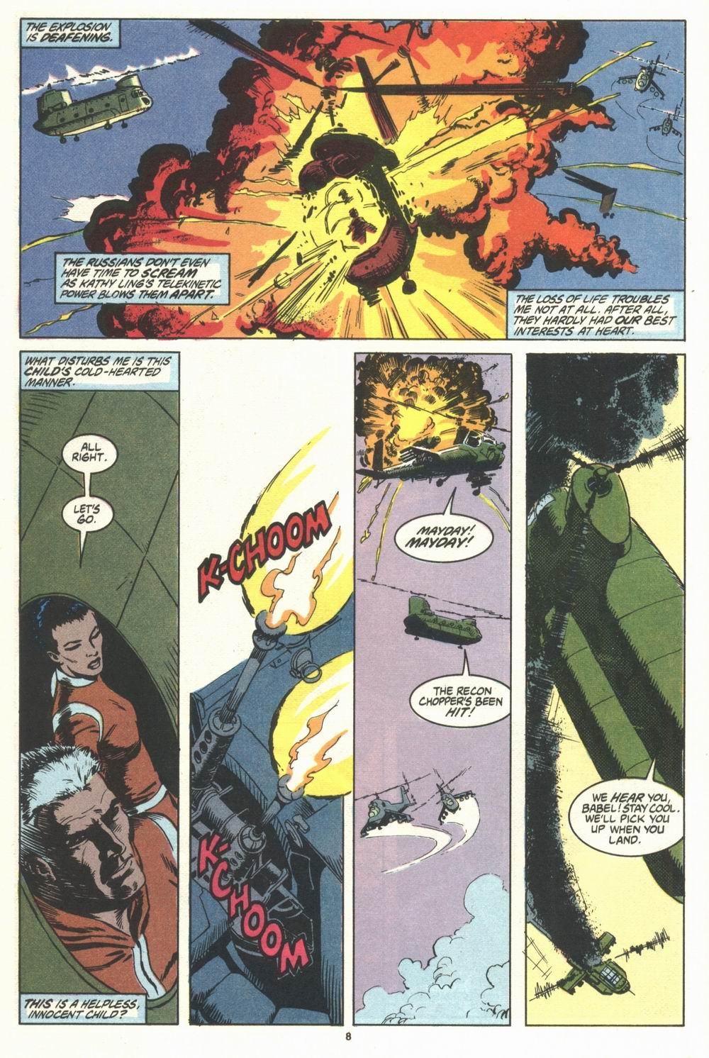 Read online Justice (1986) comic -  Issue #29 - 9