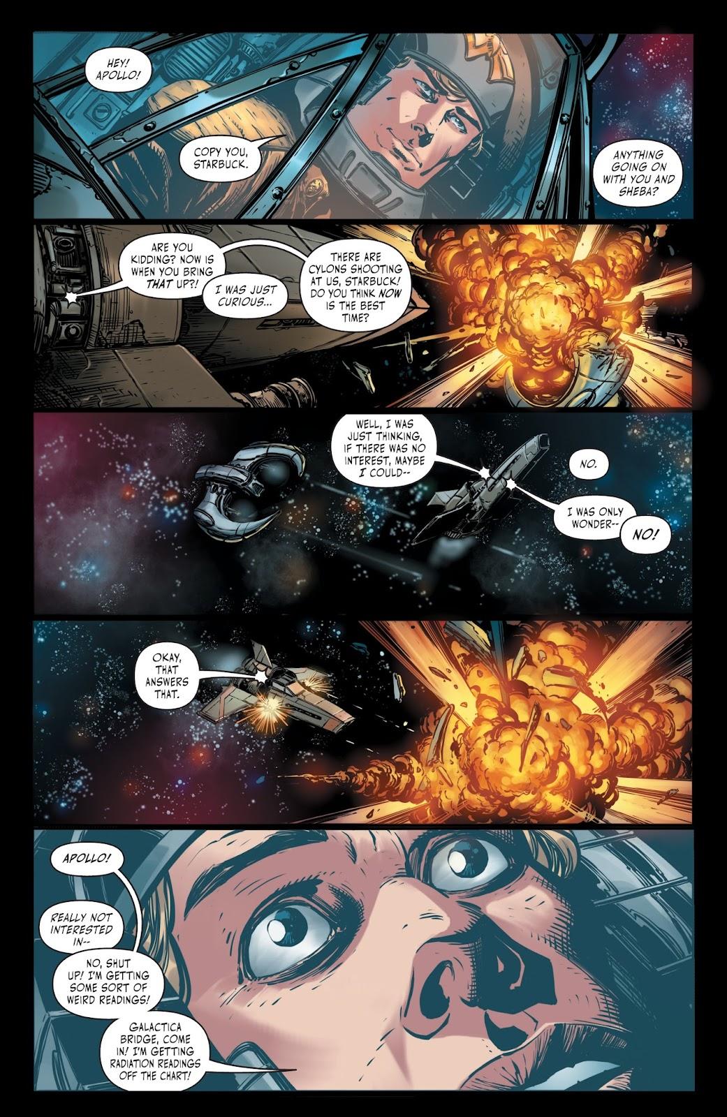 Battlestar Galactica BSG vs. BSG issue 1 - Page 22