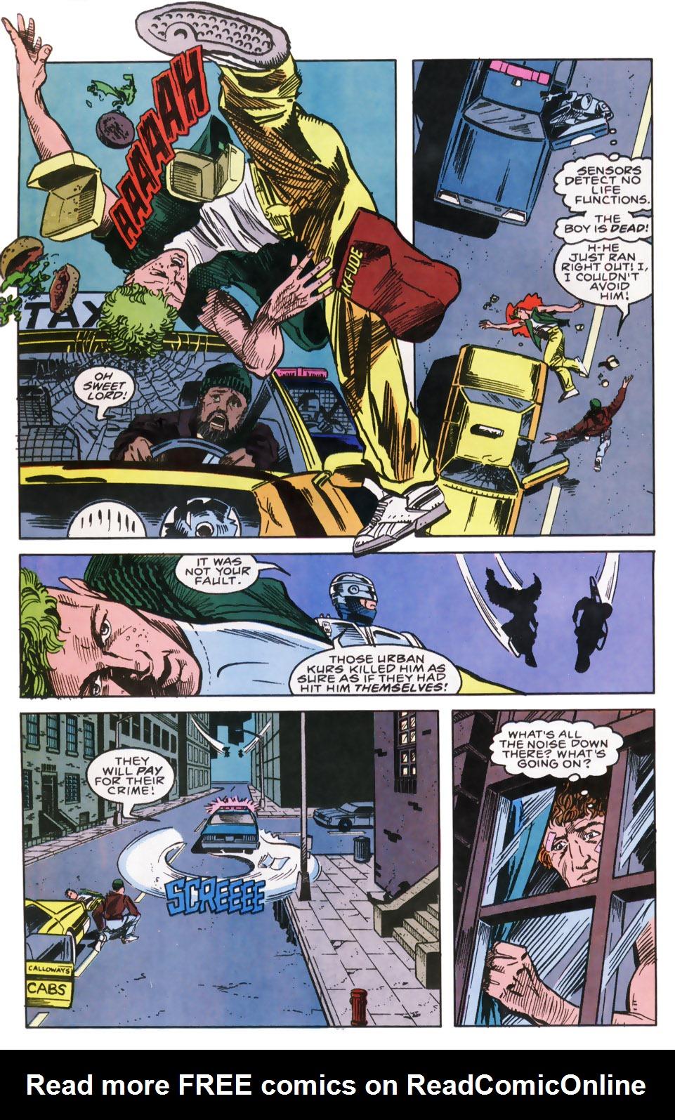 Read online Robocop (1990) comic -  Issue #9 - 21