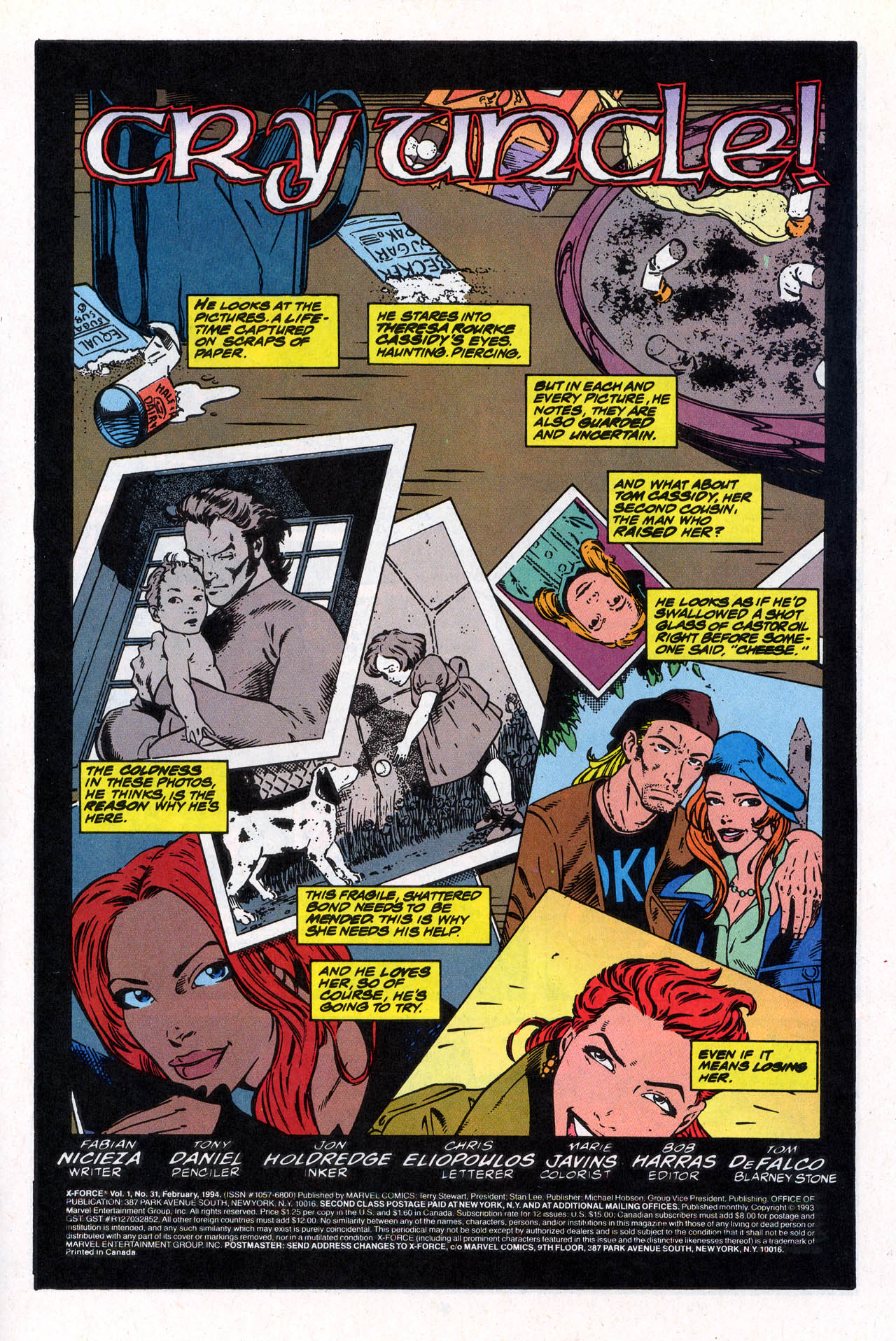 Read online X-Force (1991) comic -  Issue #31 - 3