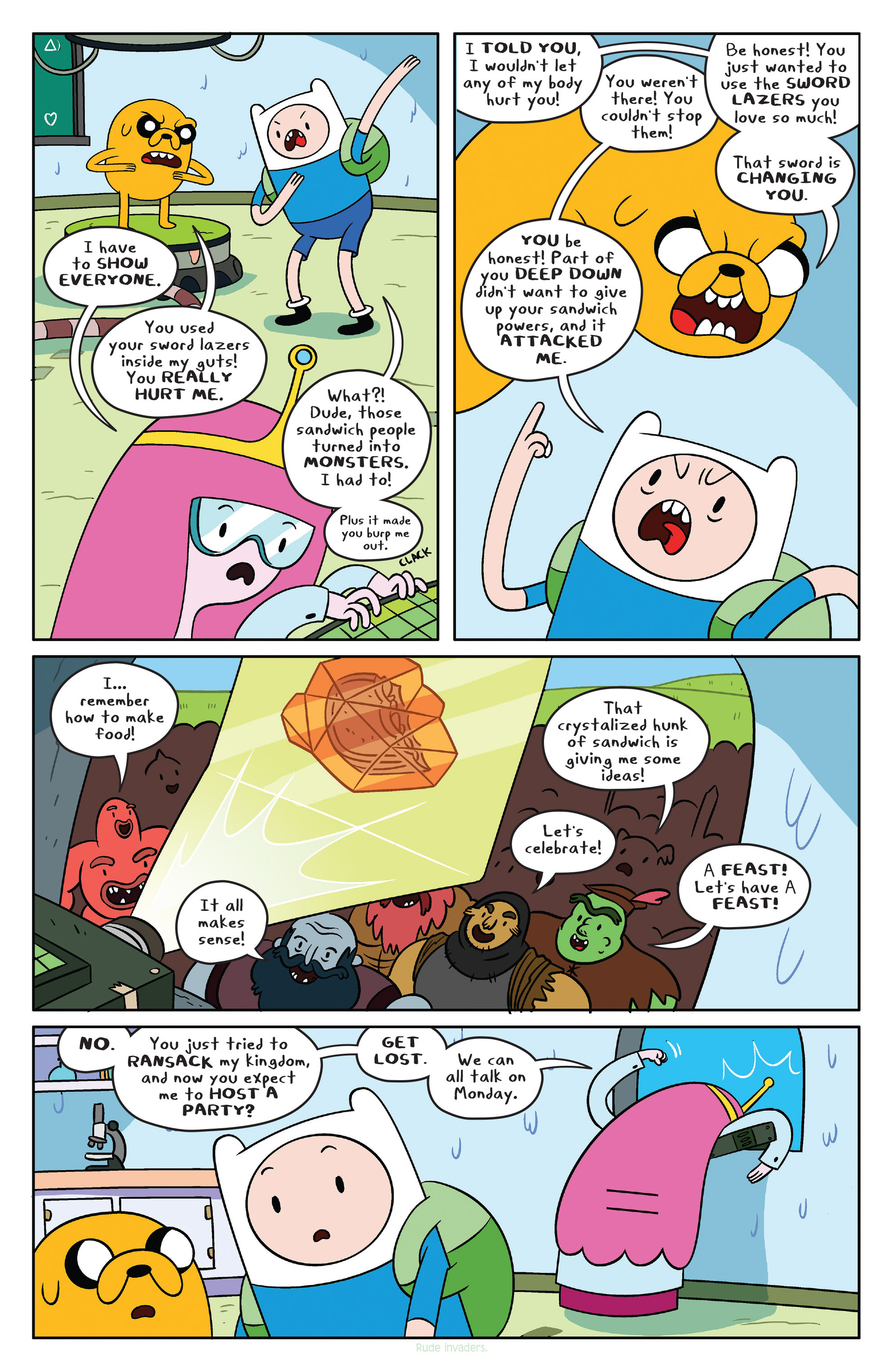 Read online Adventure Time comic -  Issue #38 - 17
