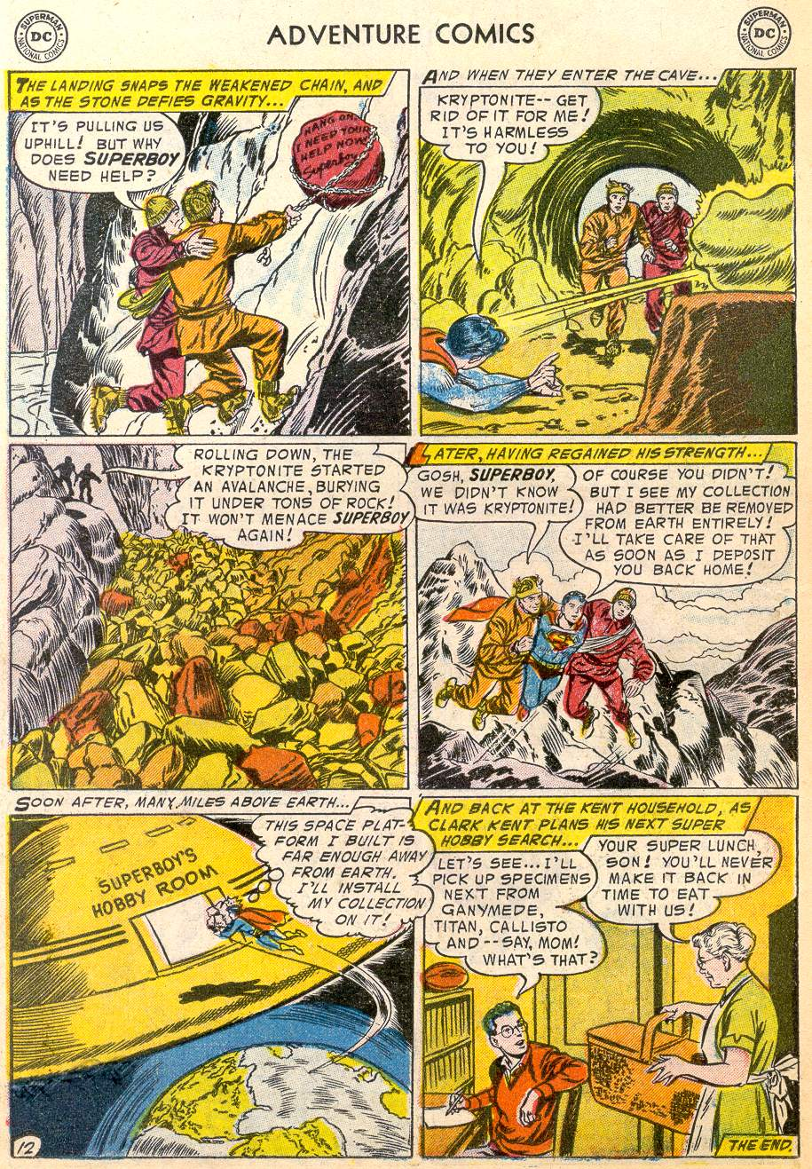 Read online Adventure Comics (1938) comic -  Issue #215 - 14