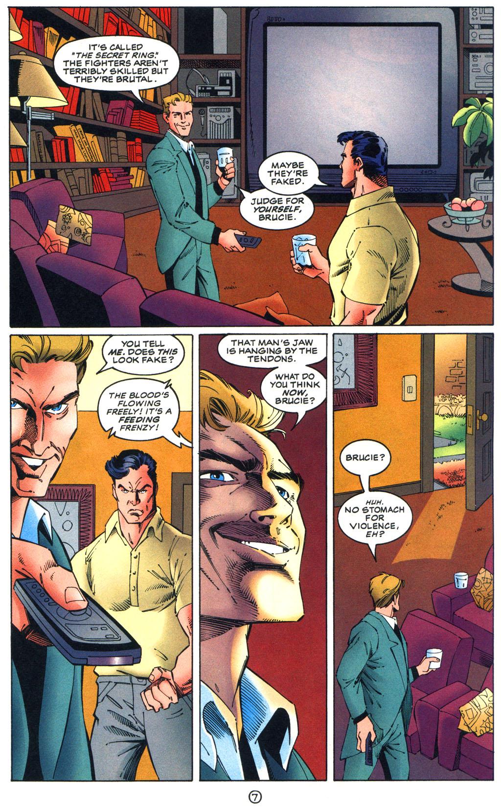 Read online Batman/Wildcat comic -  Issue #1 - 7