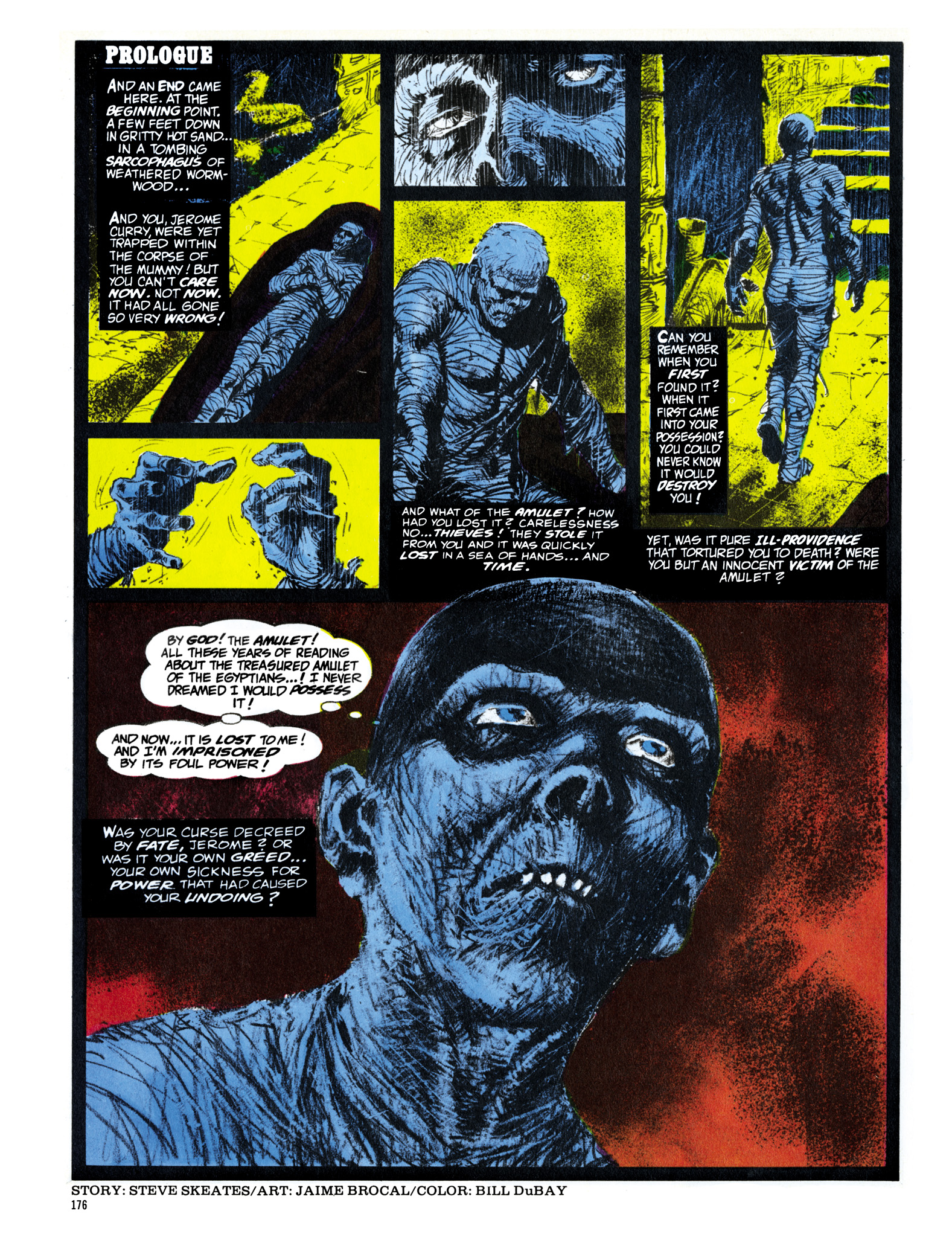 Read online Eerie Archives comic -  Issue # TPB 16 - 177