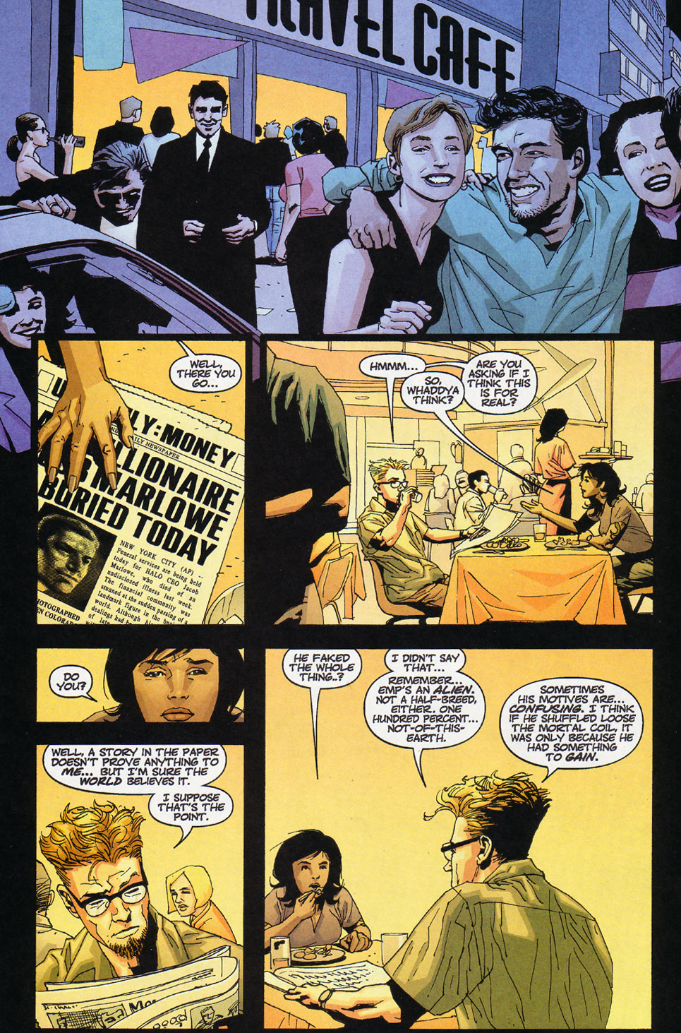 Wildcats (1999) Issue #12 #13 - English 10