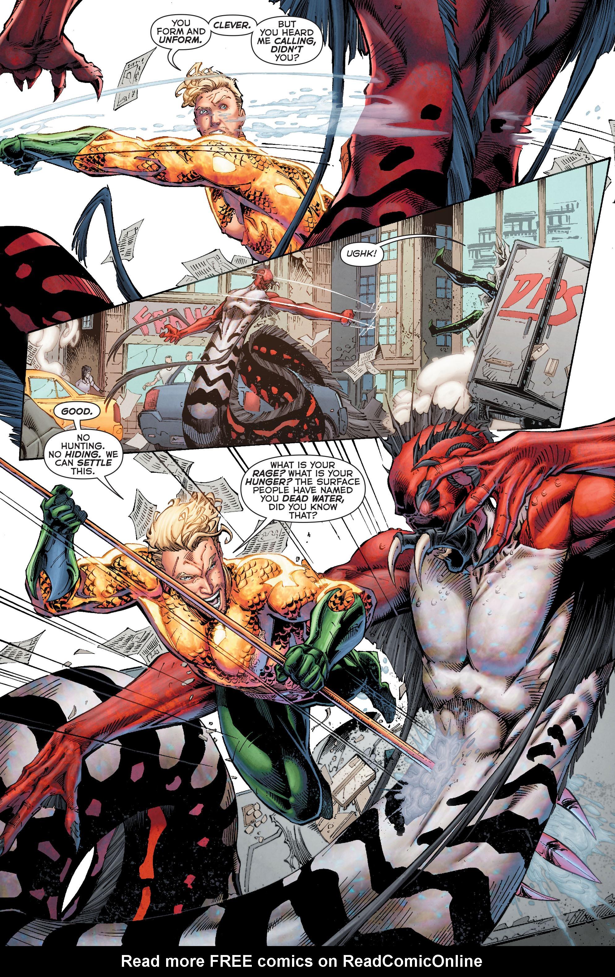 Read online Aquaman (2011) comic -  Issue #50 - 25