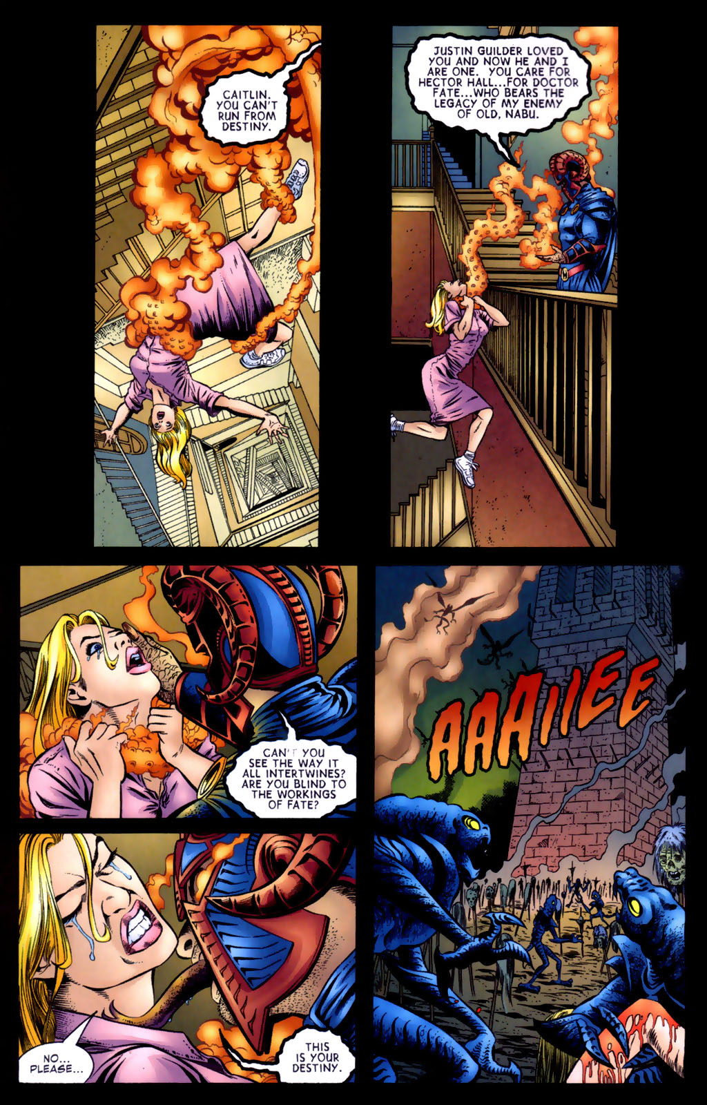 Read online Doctor Fate (2003) comic -  Issue #5 - 9