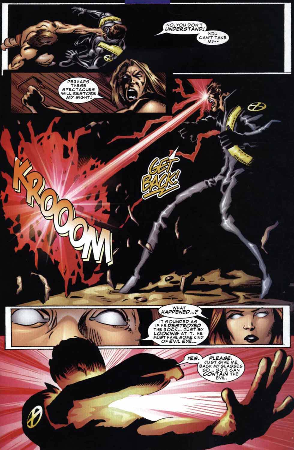 Read online Cyclops (2001) comic -  Issue #3 - 11