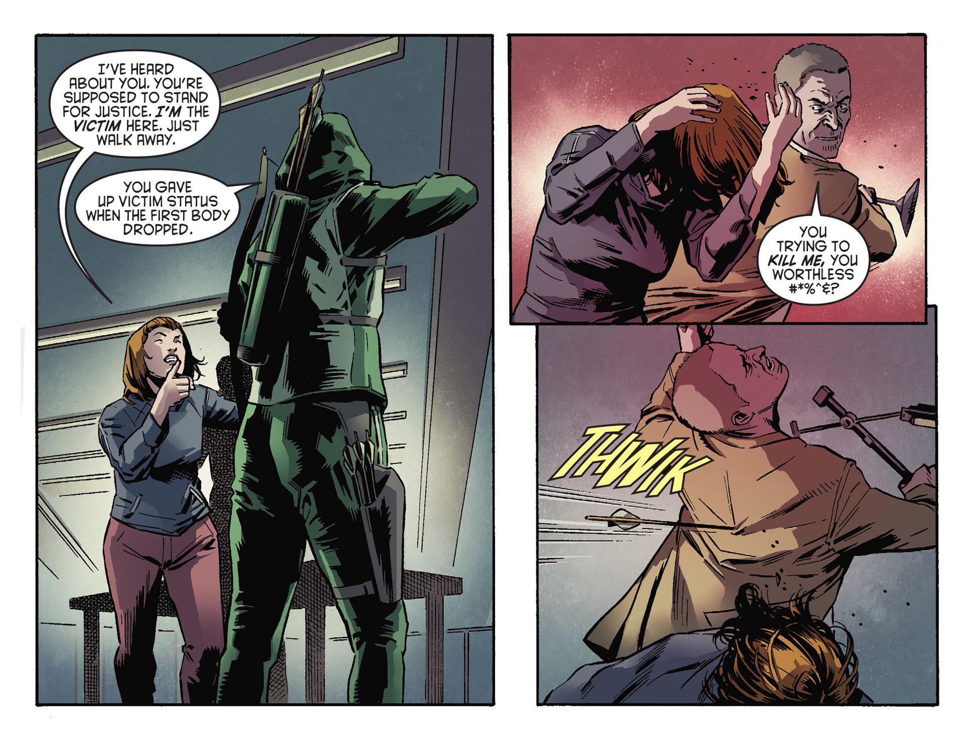 Read online Arrow [II] comic -  Issue #30 - 20