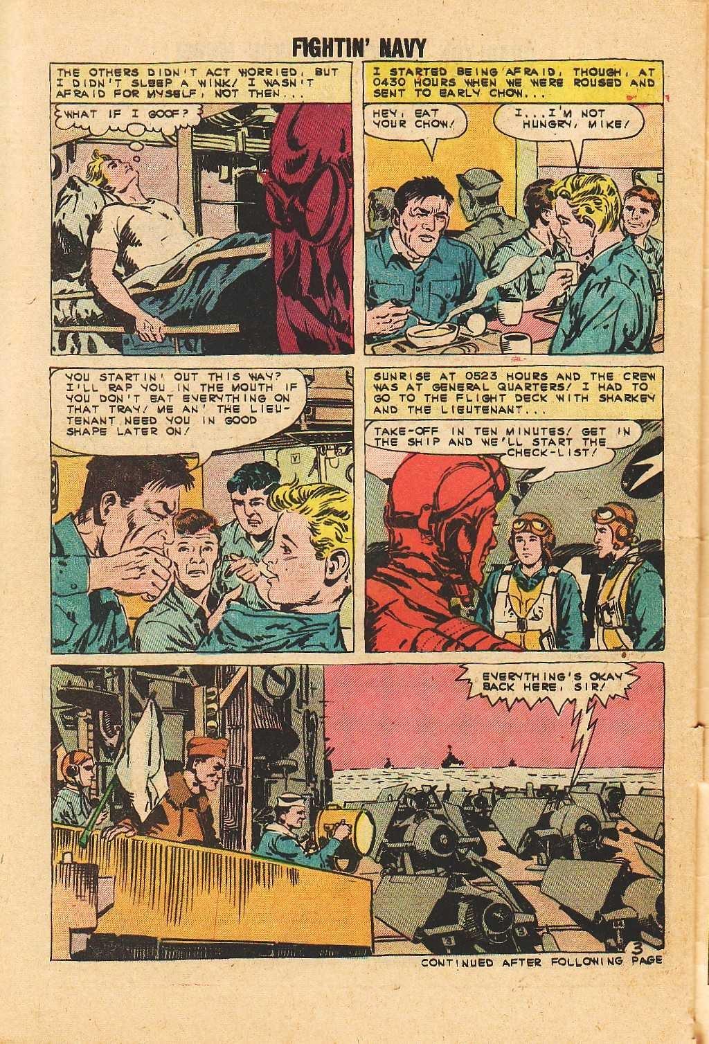Read online Fightin' Navy comic -  Issue #113 - 30