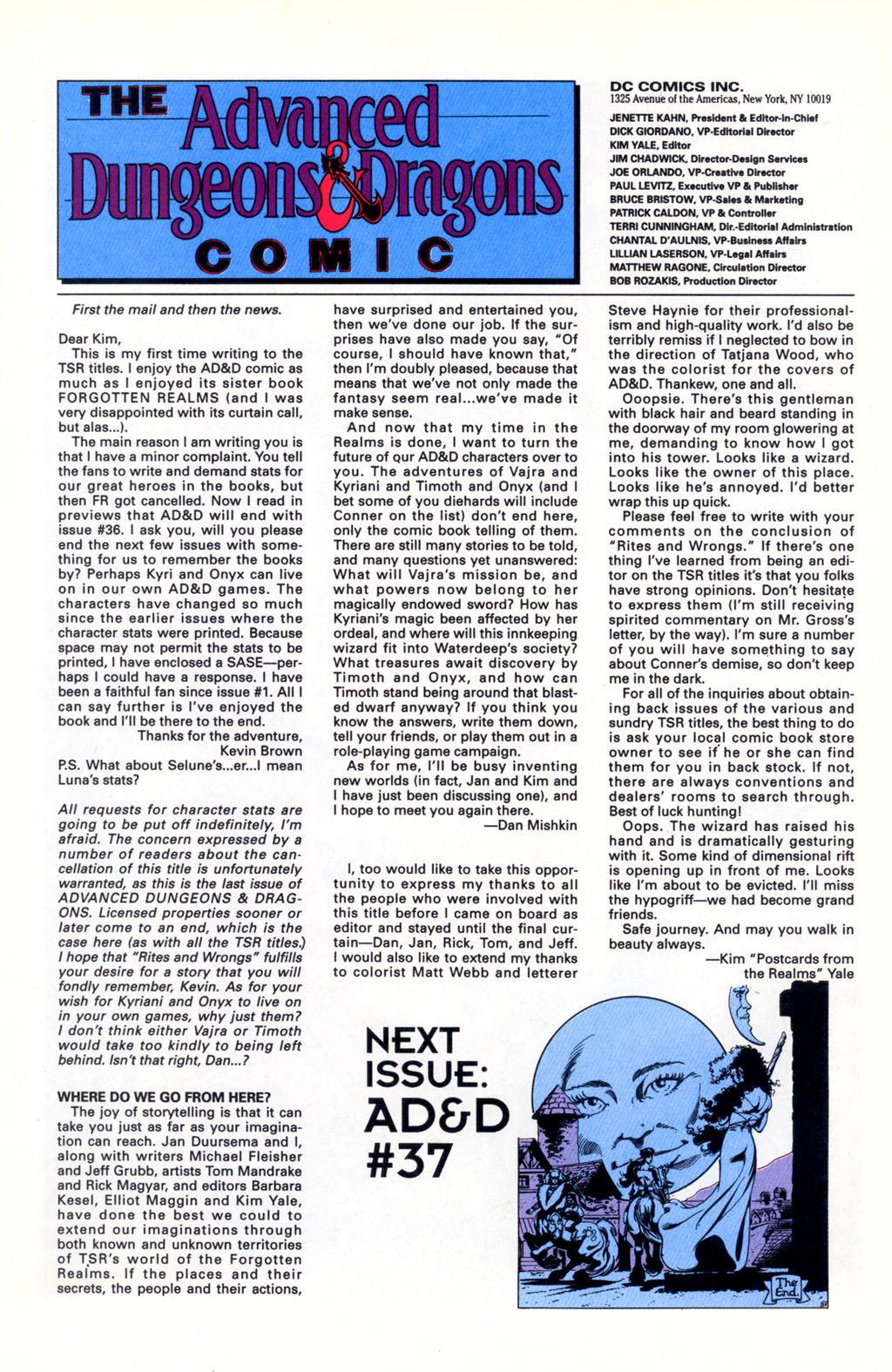 Read online Advanced Dungeons & Dragons comic -  Issue #36 - 26