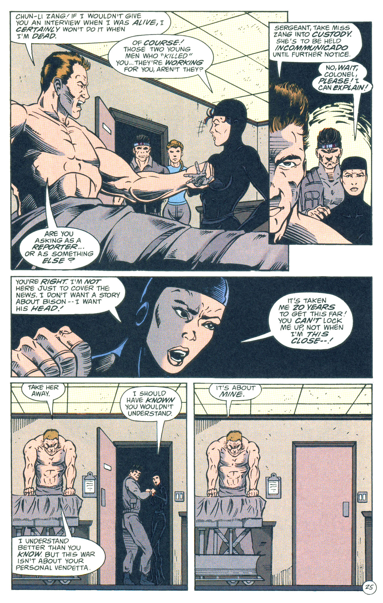 Read online Street Fighter: The Battle For Shadaloo comic -  Issue # Full - 26