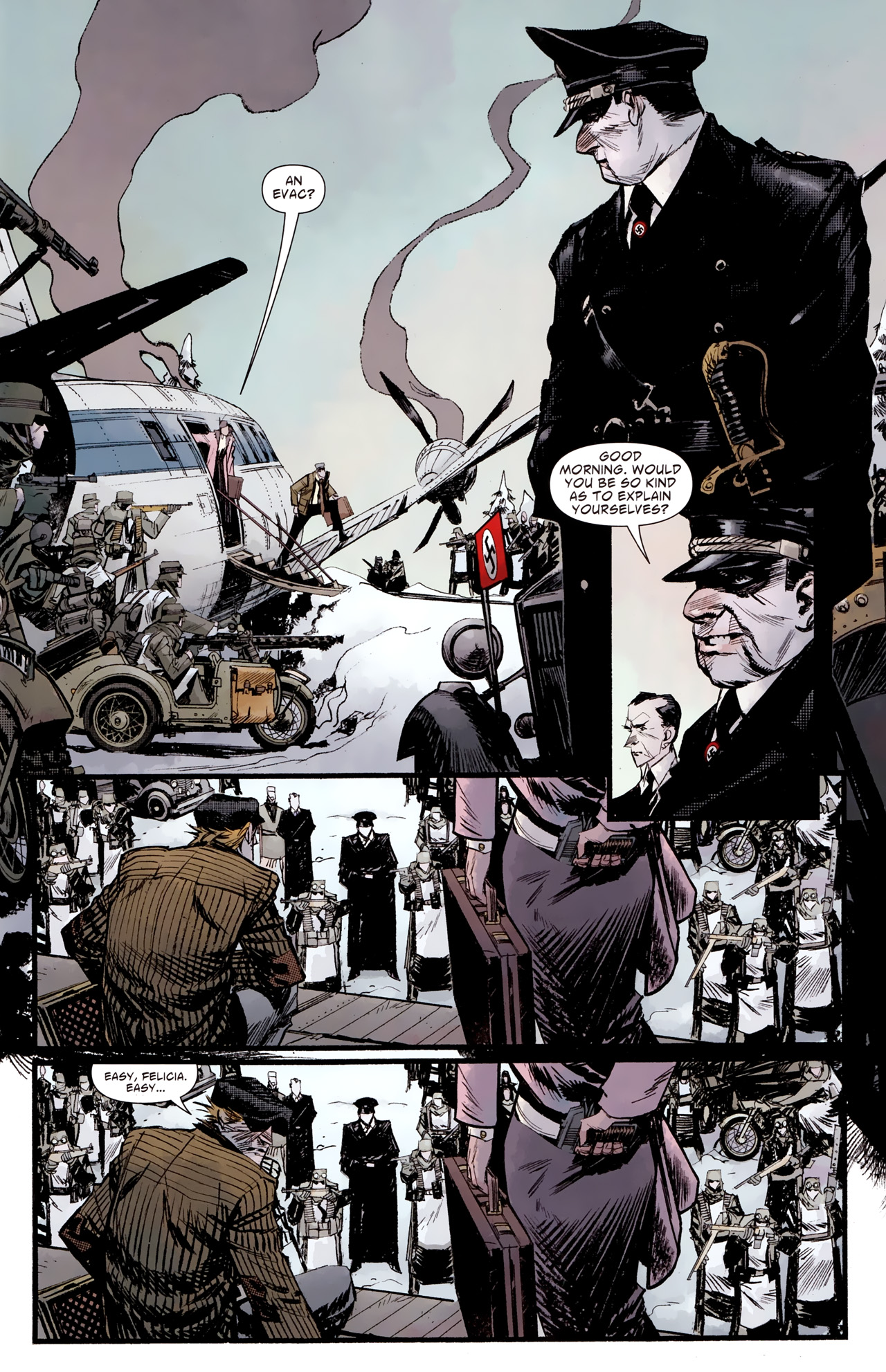 Read online American Vampire: Survival of the Fittest comic -  Issue #2 - 11