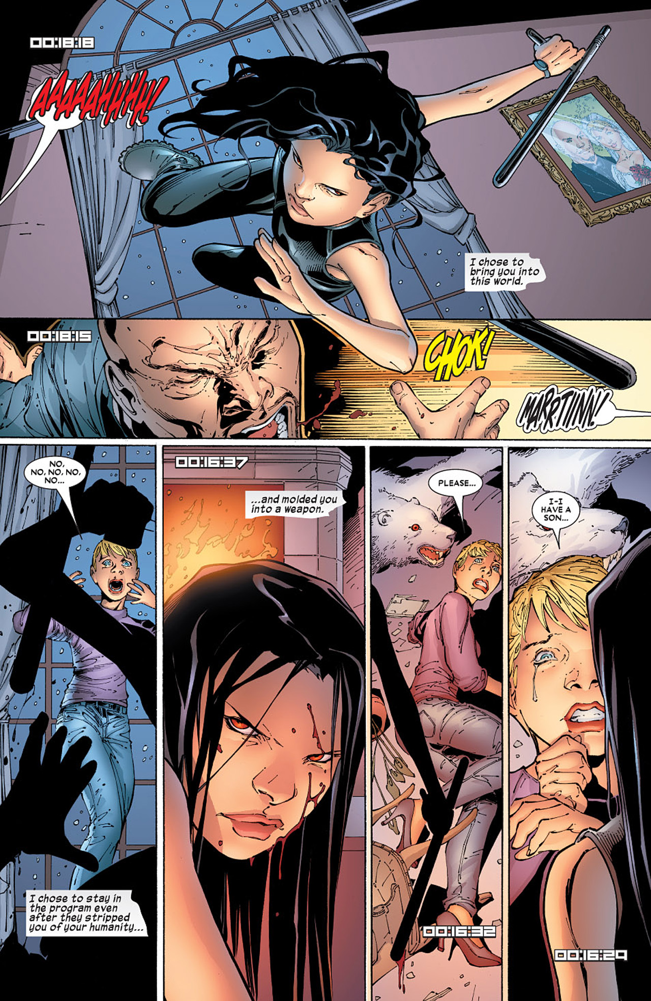 Read online X-23 (2005) comic -  Issue #5 - 3