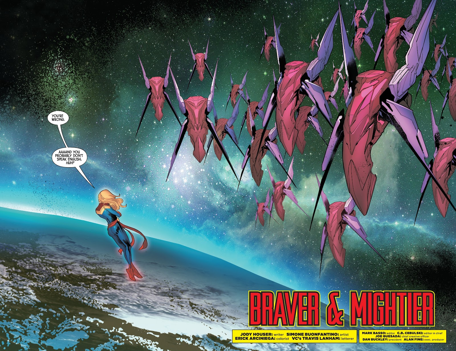 Read online Captain Marvel: Braver & Mightier comic -  Issue #1 - 4