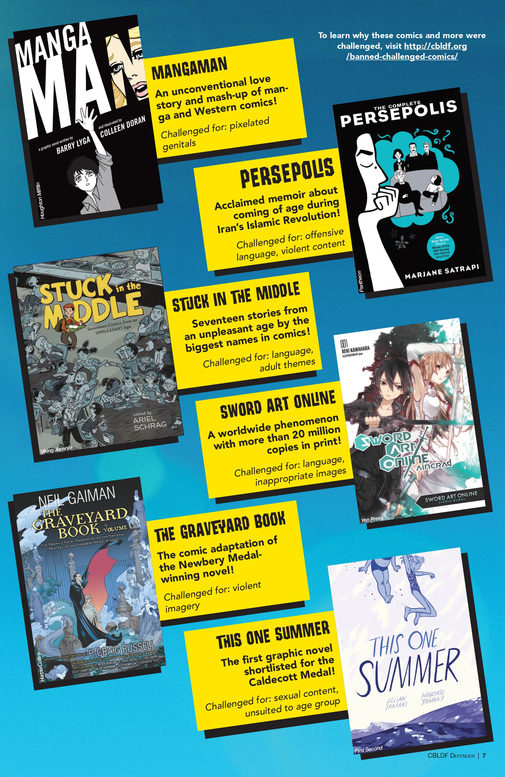 Read online CBLDF Defender Vol. 2 comic -  Issue #2 - 7