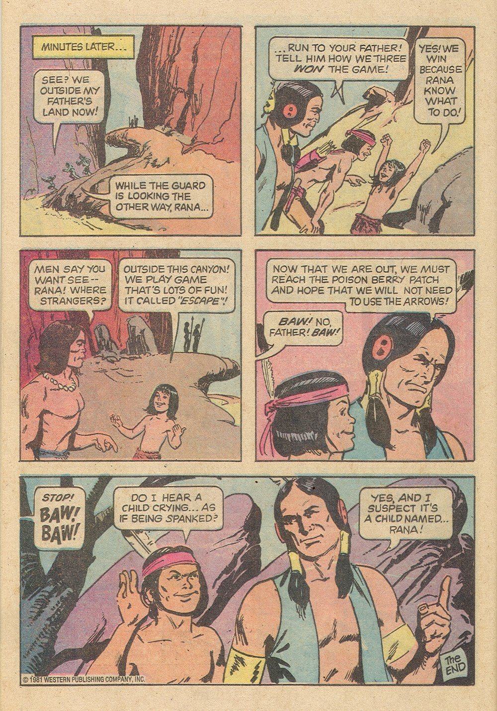 Read online Turok, Son of Stone comic -  Issue #129 - 24