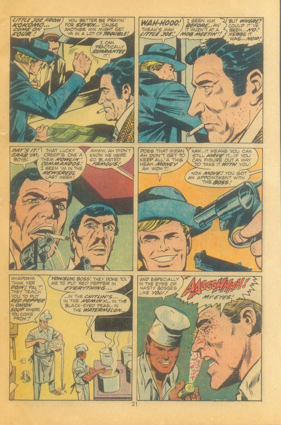 Read online Sgt. Fury comic -  Issue #102 - 23