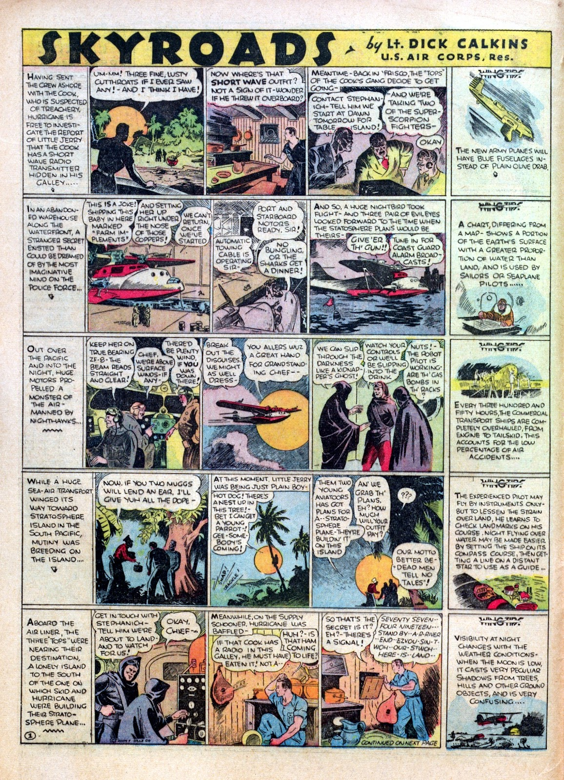 Read online Famous Funnies comic -  Issue #30 - 12