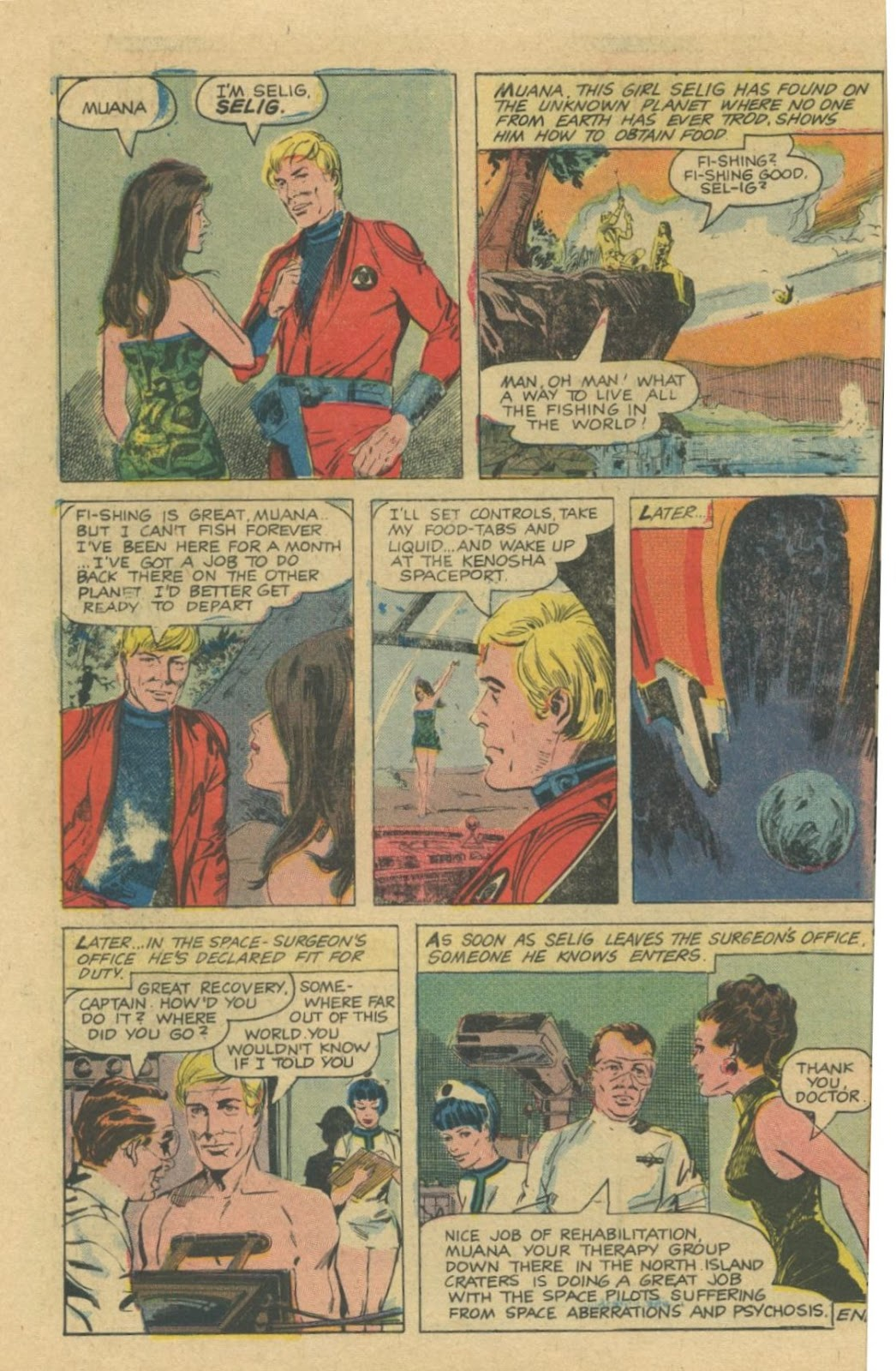 Space Adventures (1968) issue 8 - Page 10