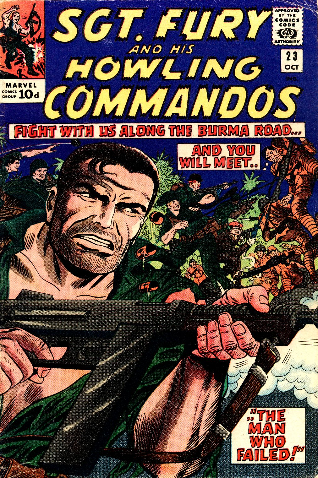 Read online Sgt. Fury comic -  Issue #23 - 1