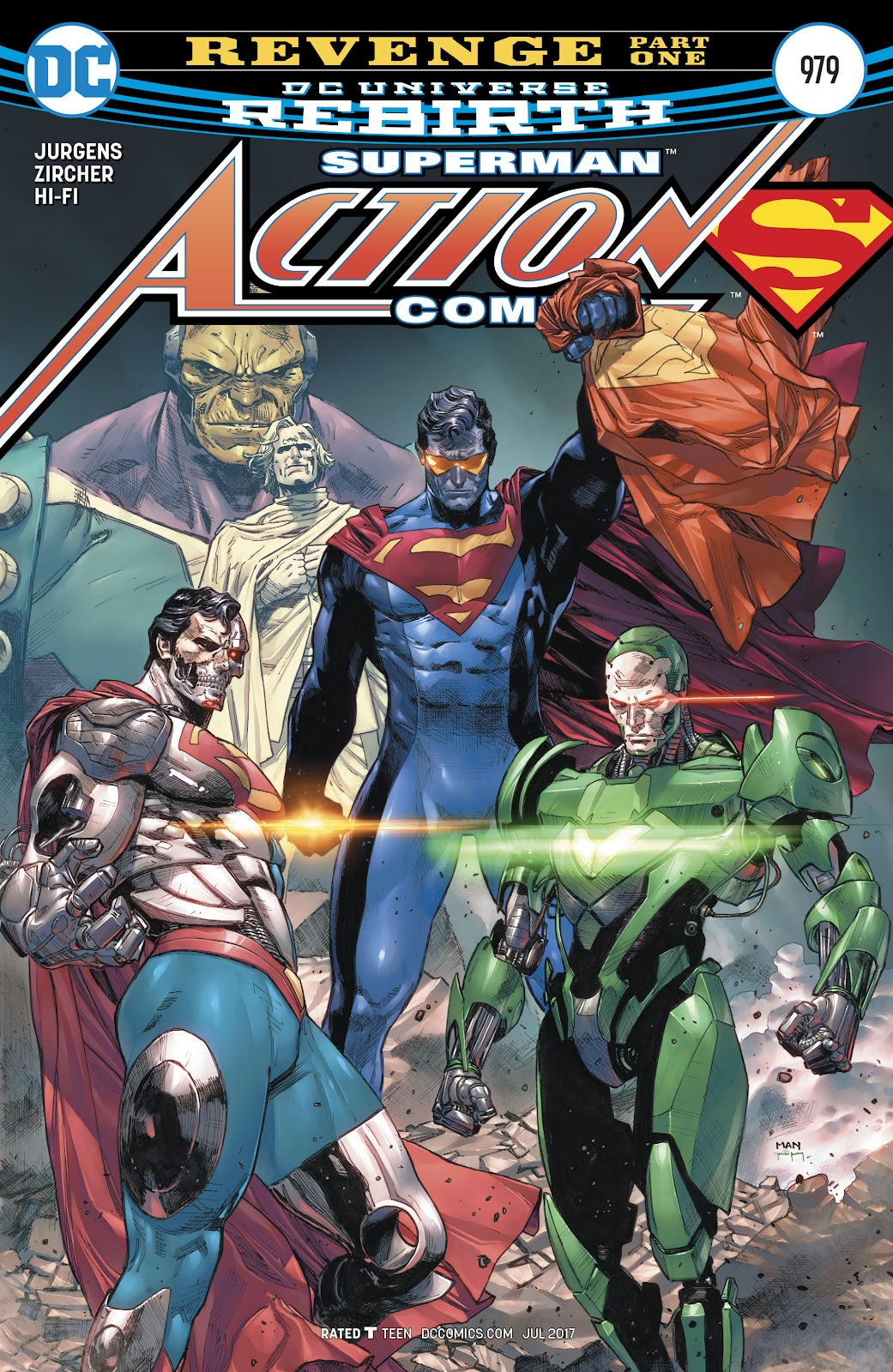 Read online Action Comics (2016) comic -  Issue #979 - 1