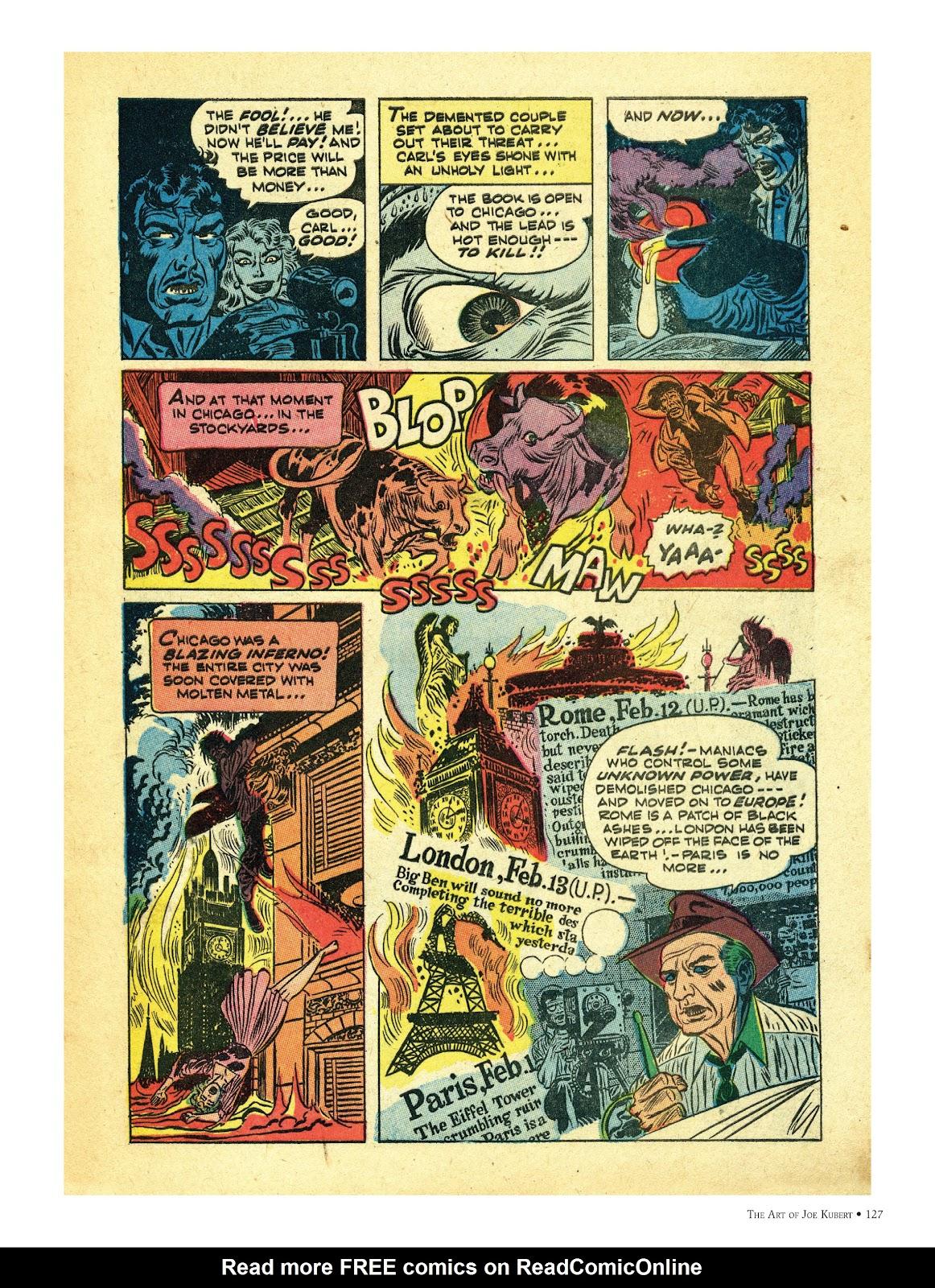 Read online The Art of Joe Kubert comic -  Issue # TPB (Part 2) - 27