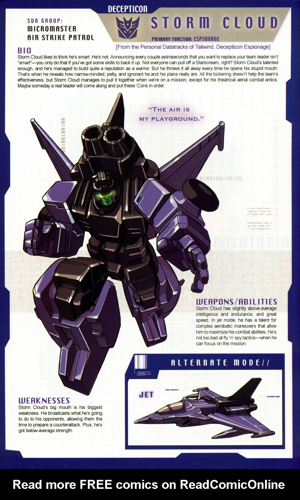 Read online Transformers: More than Meets the Eye comic -  Issue #6 - 47