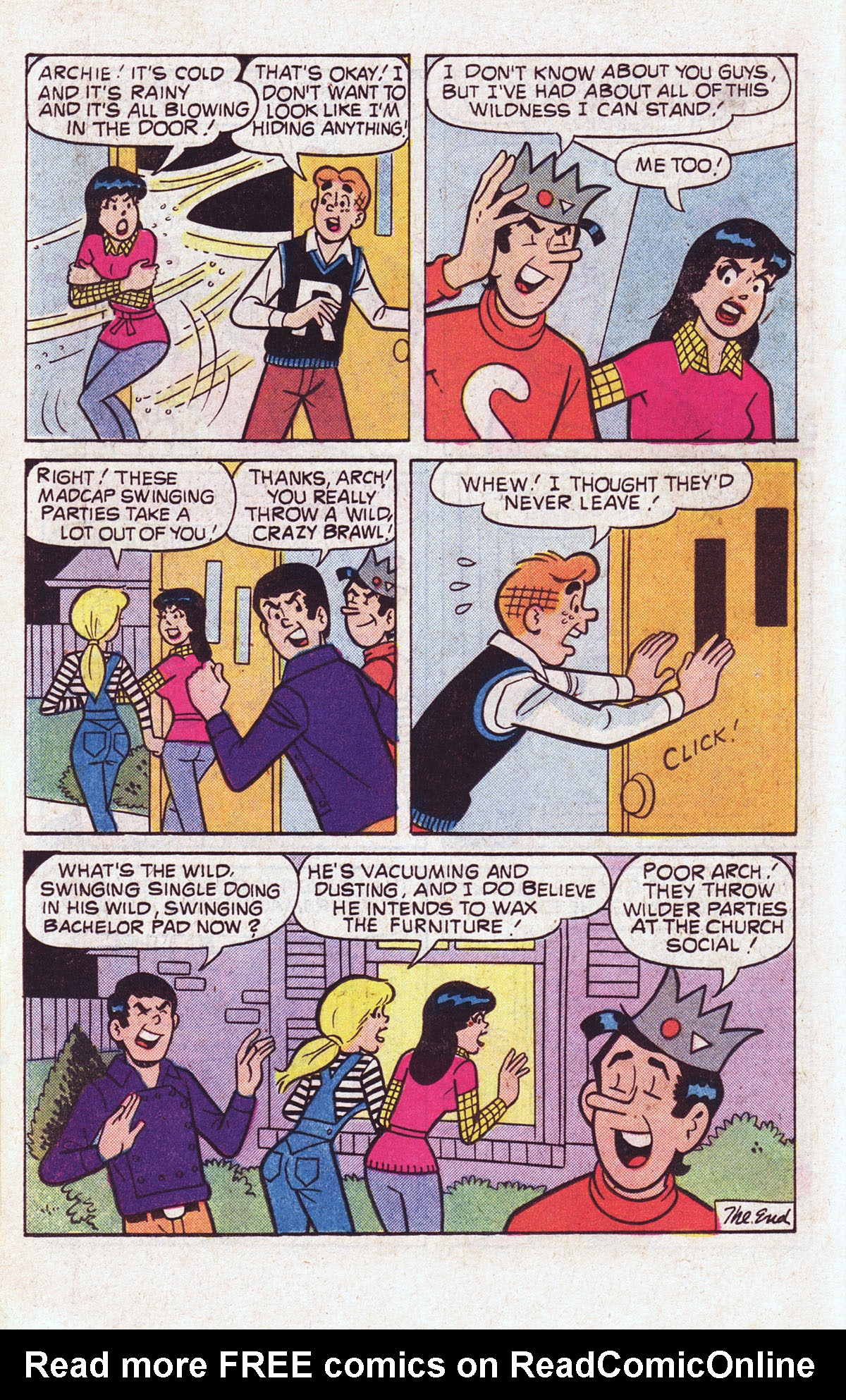 Read online Archie (1960) comic -  Issue #301 - 18
