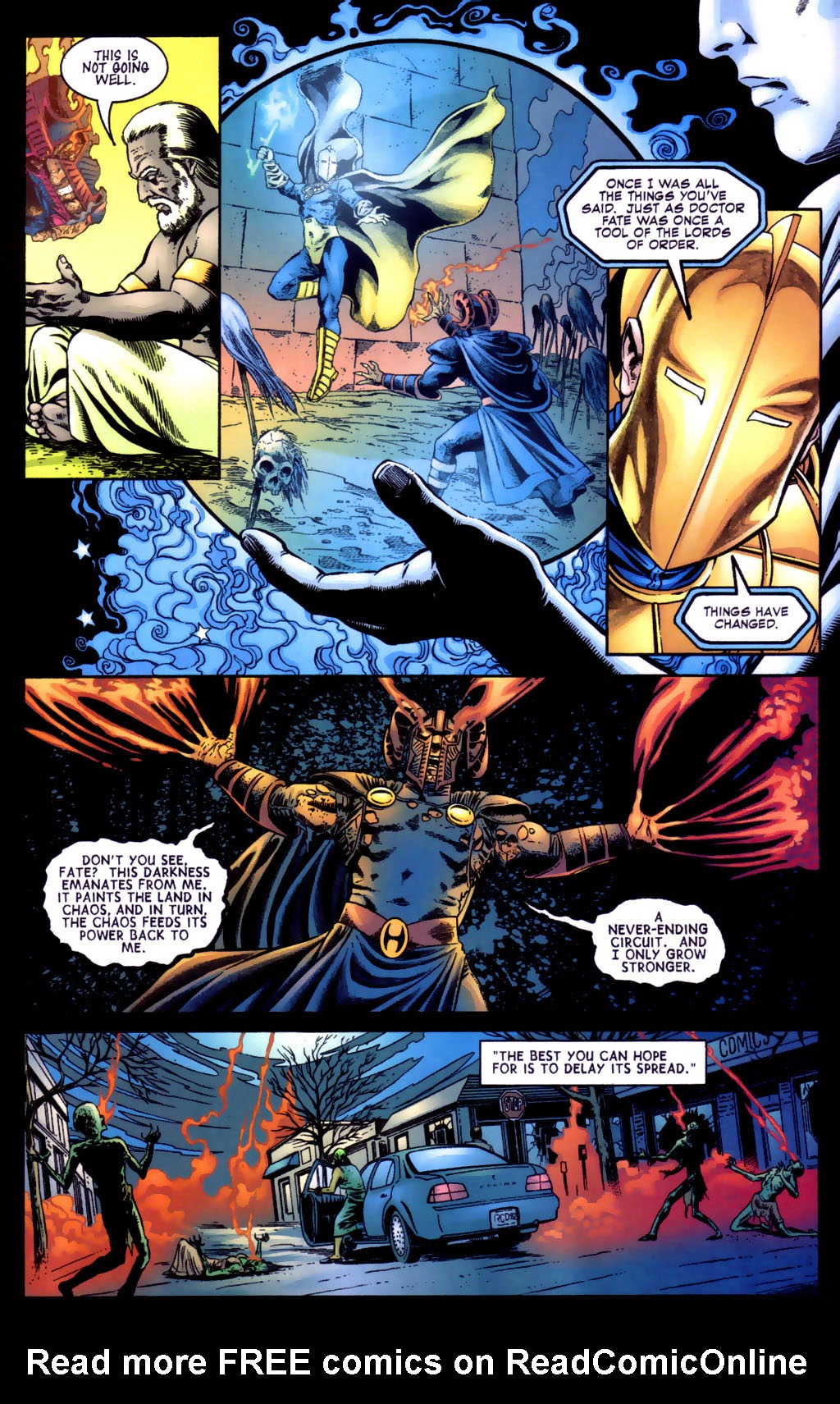 Read online Doctor Fate (2003) comic -  Issue #5 - 15