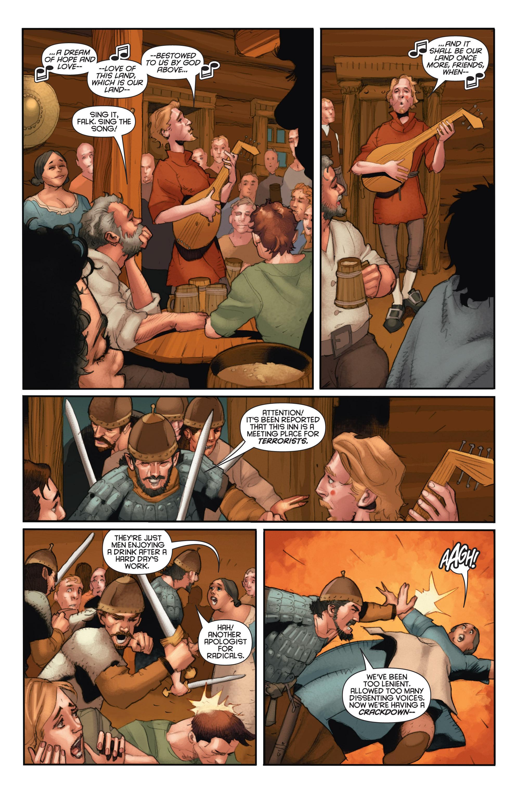 Read online Eternal Warrior: Days of Steel comic -  Issue #2 - 19