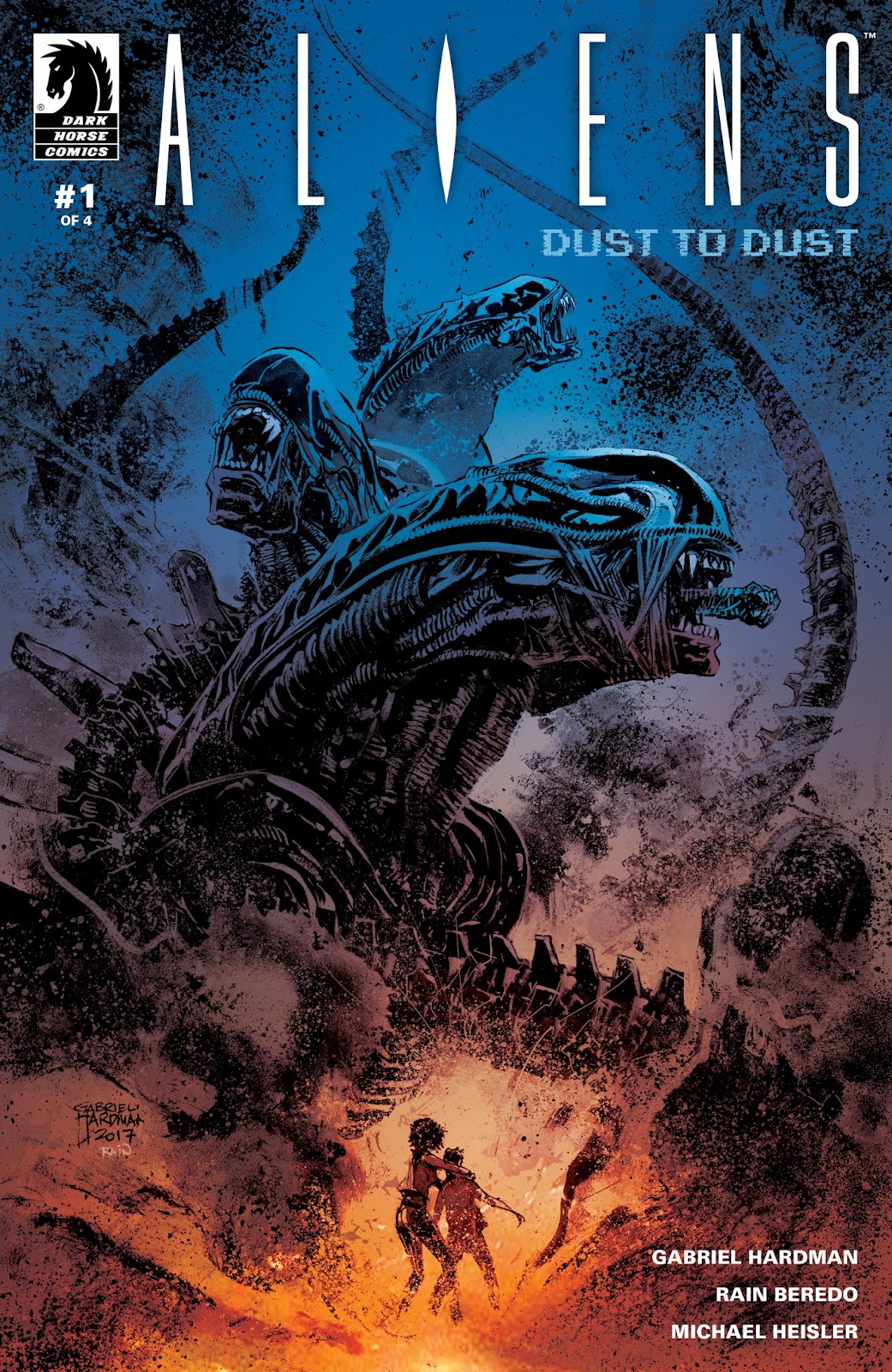 Aliens: Dust To Dust issue 1 - Page 1